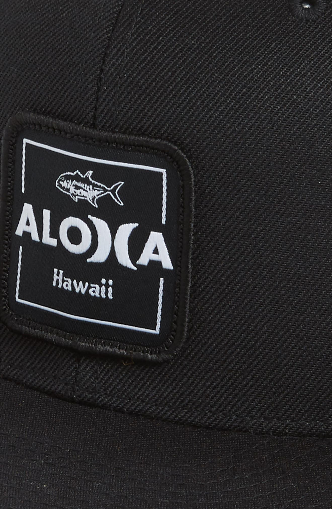 Aloha Cruiser 2 Cap,                             Alternate thumbnail 3, color,                             Black