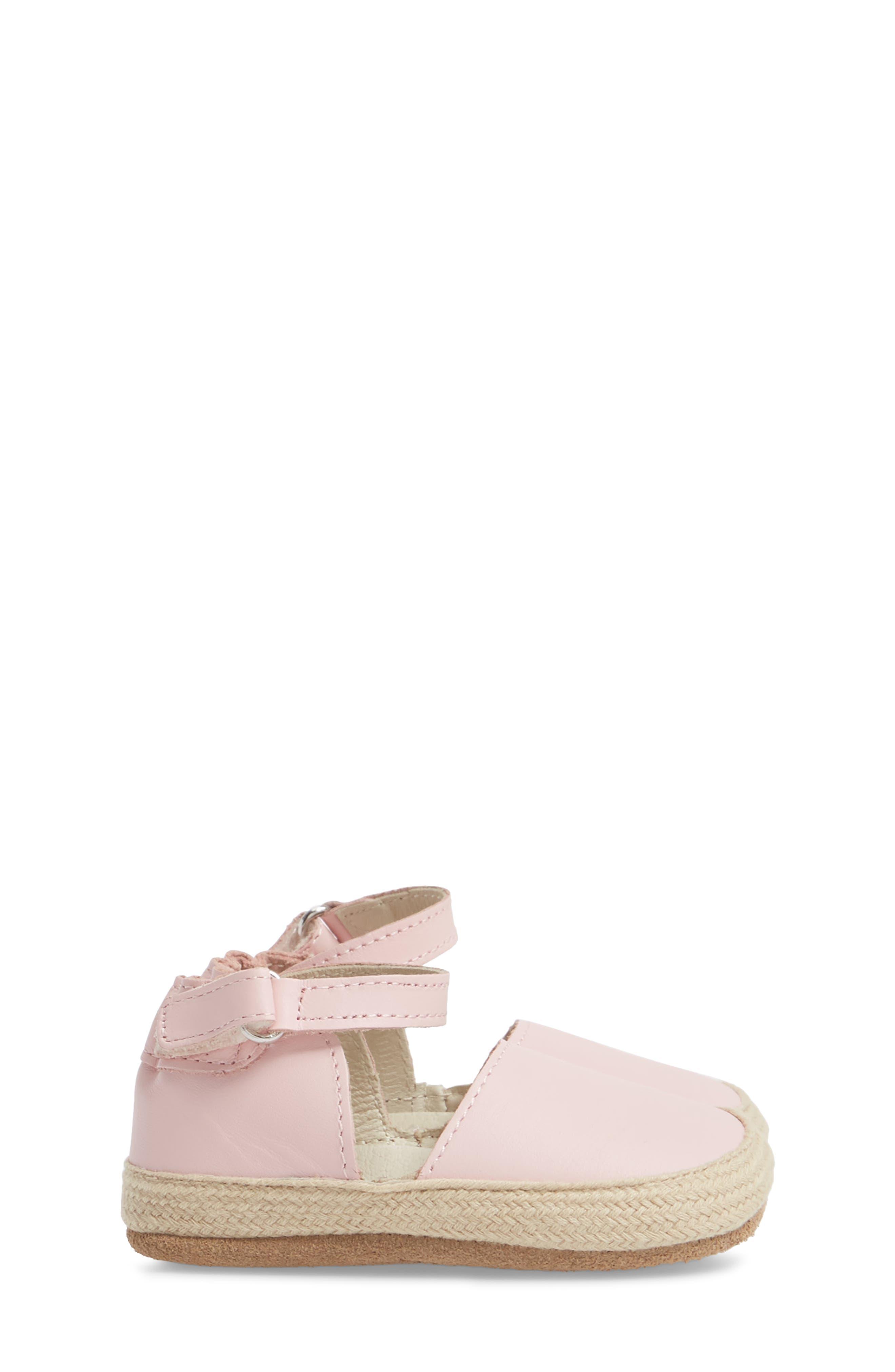Kelly Soft Sole Espadrille Sandal,                             Alternate thumbnail 4, color,                             Pink