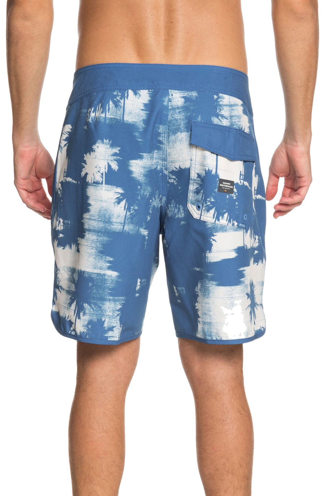 Paokalani Board Shorts,                             Alternate thumbnail 2, color,                             Deep Water