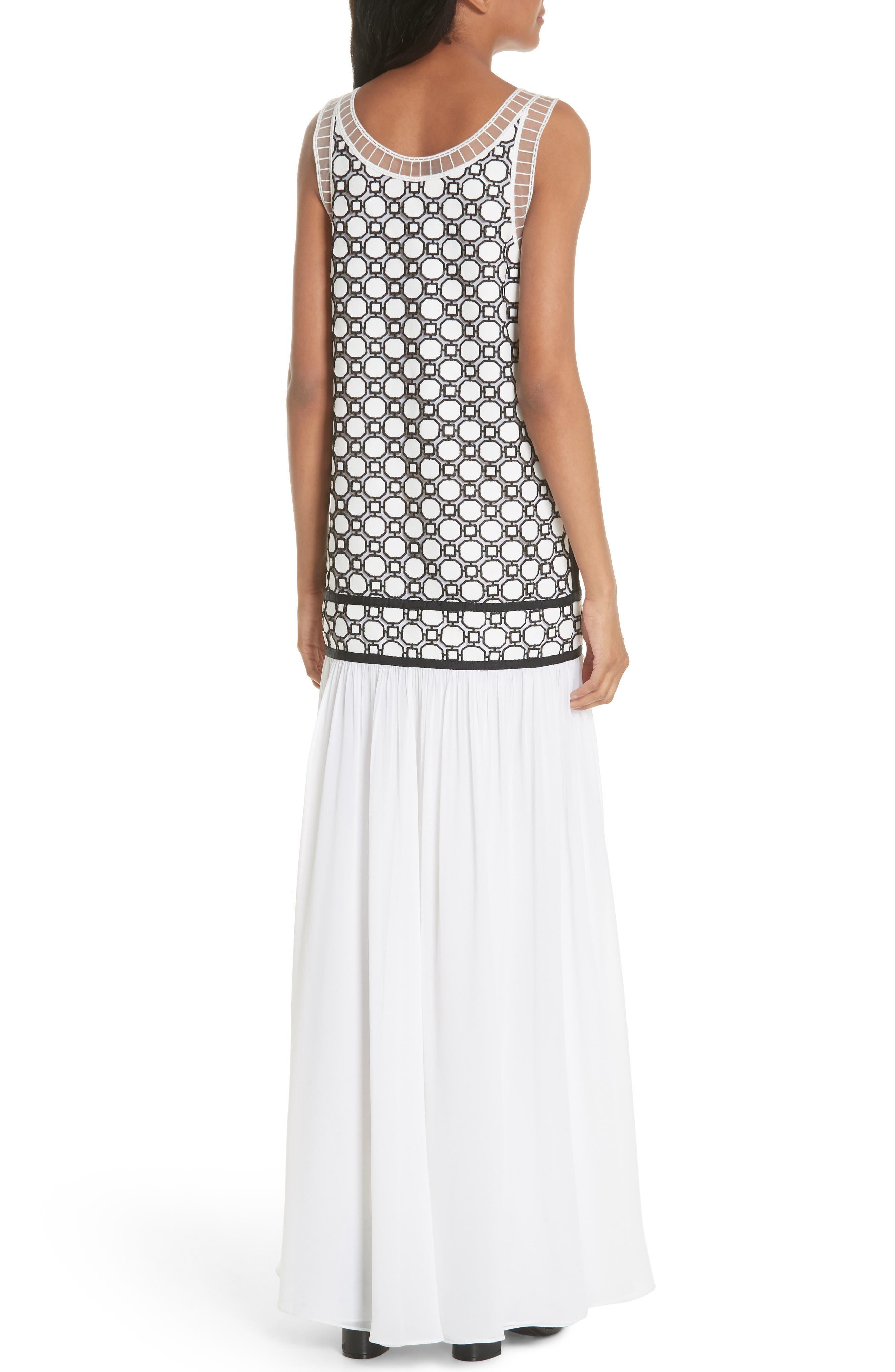 Helena Dress,                             Alternate thumbnail 2, color,                             White