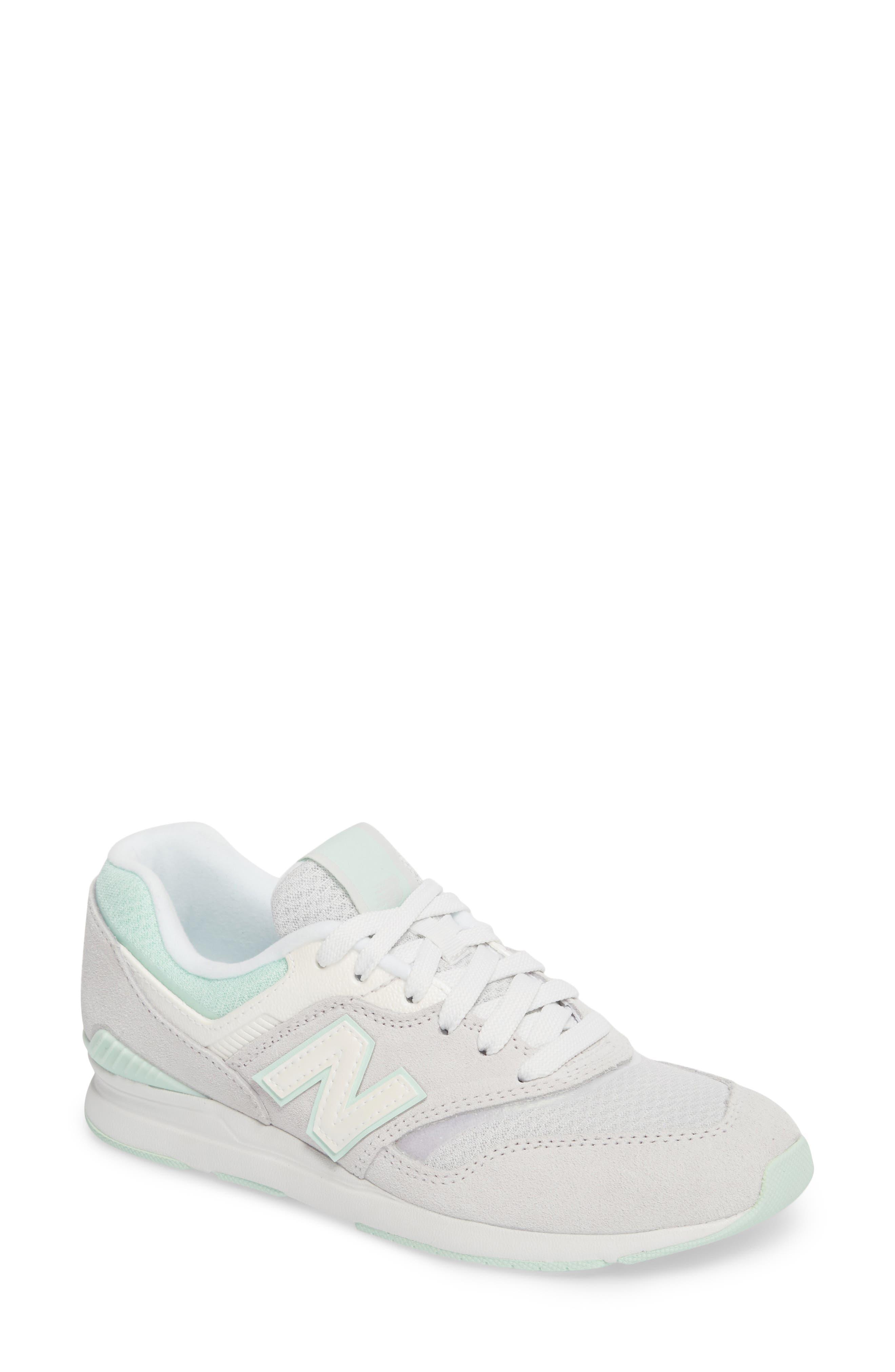 New Balance Leather 697 Sneaker (Women)