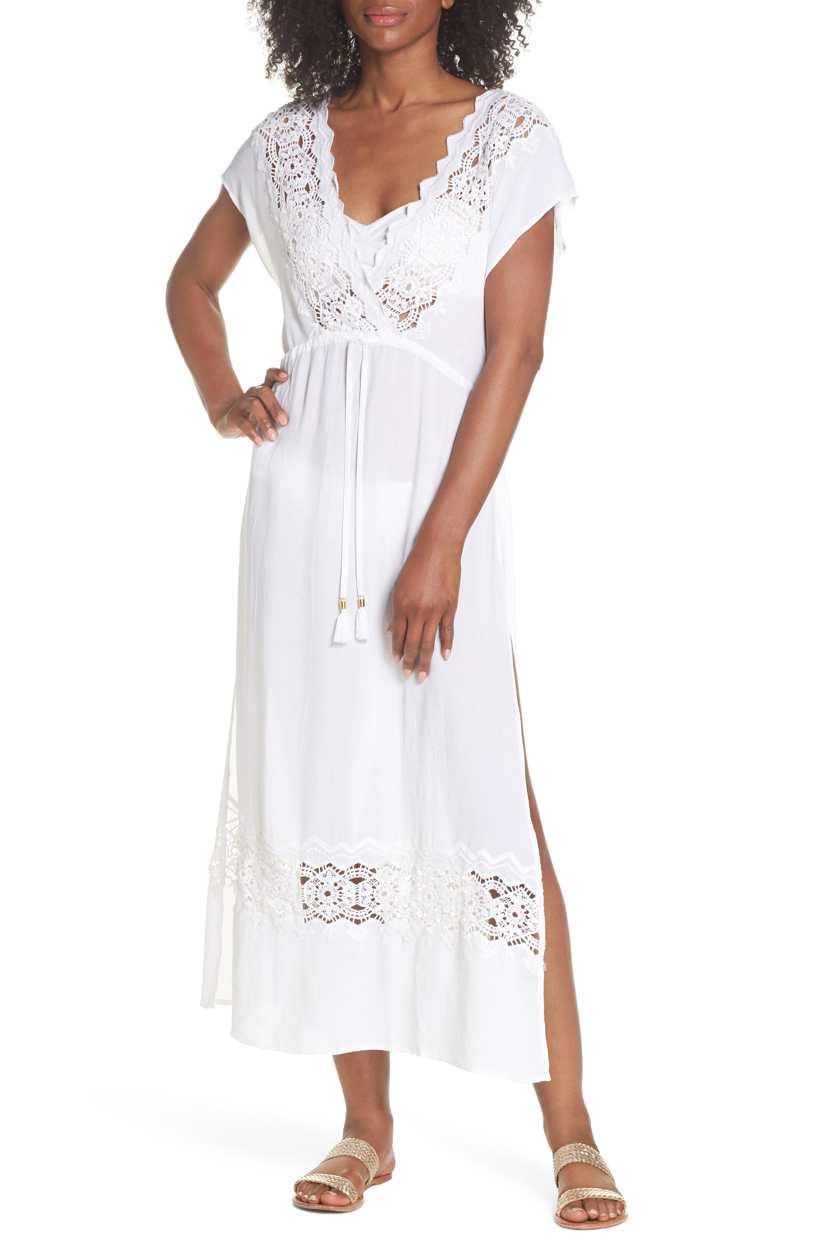 SUNSET COVER-UP DRESS