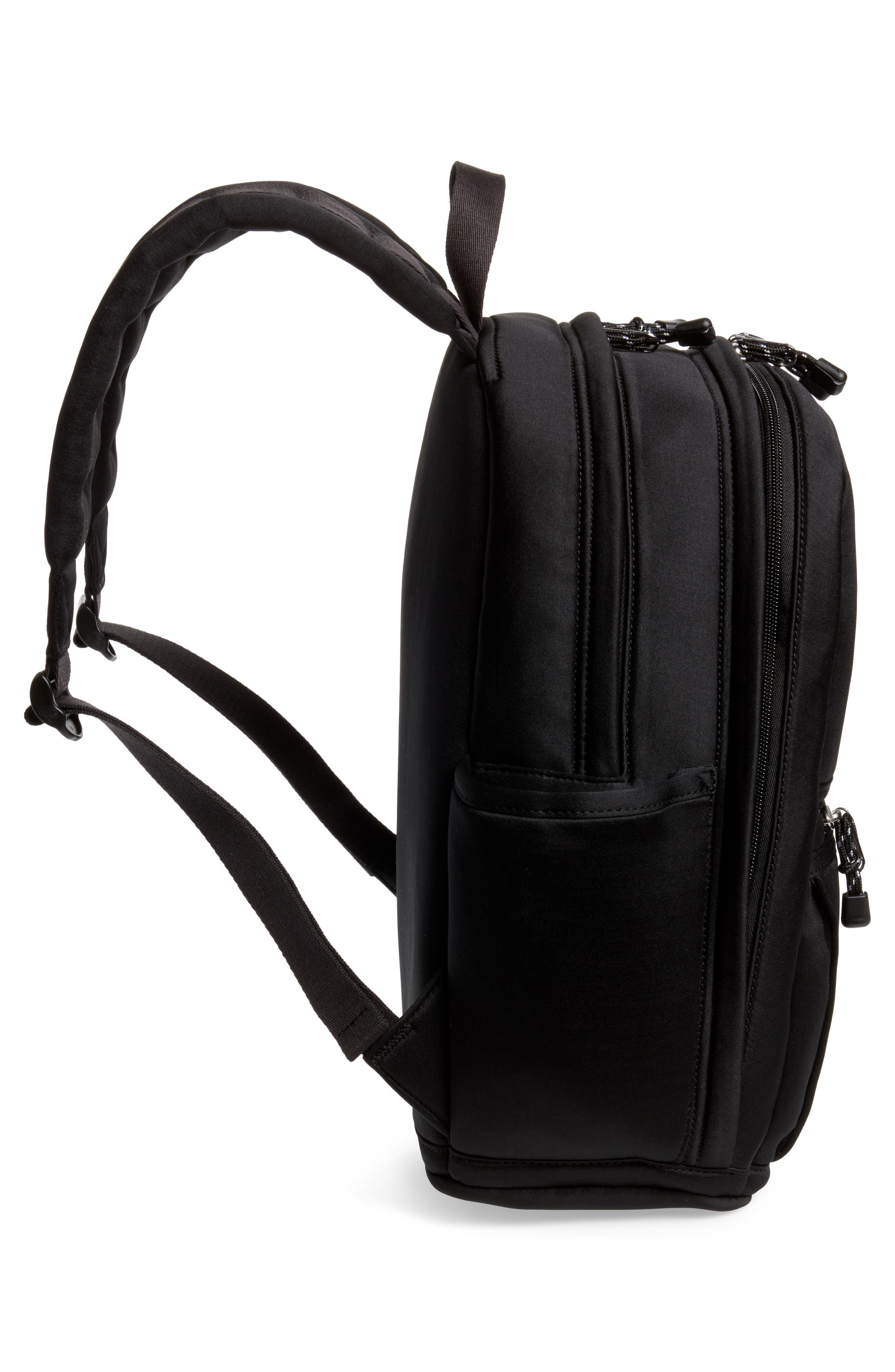 Bedford Neoprene Backpack,                             Alternate thumbnail 5, color,                             Black