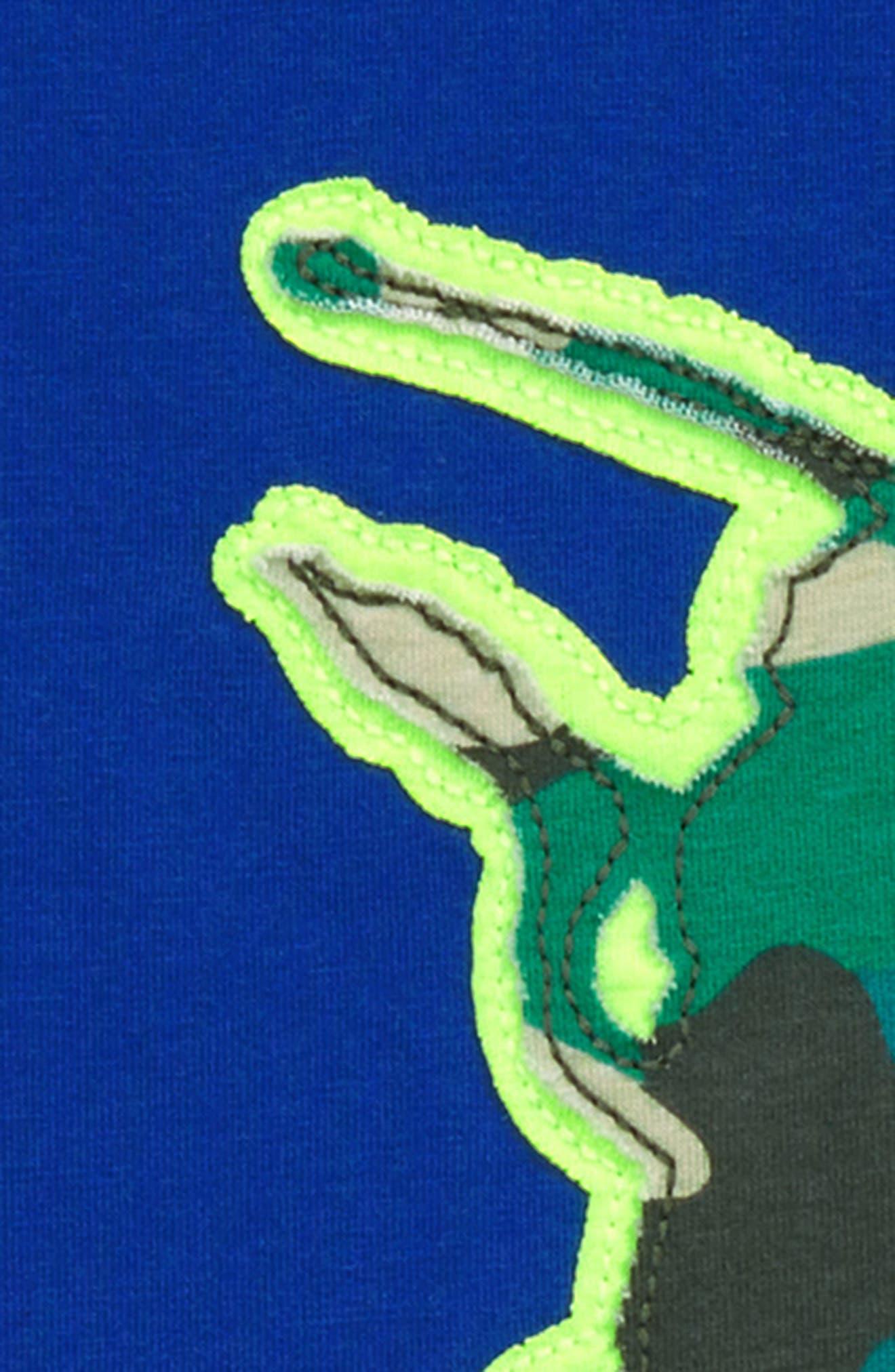 Beetle Patchwork T-Shirt,                             Alternate thumbnail 2, color,                             Orion Blue Beetle