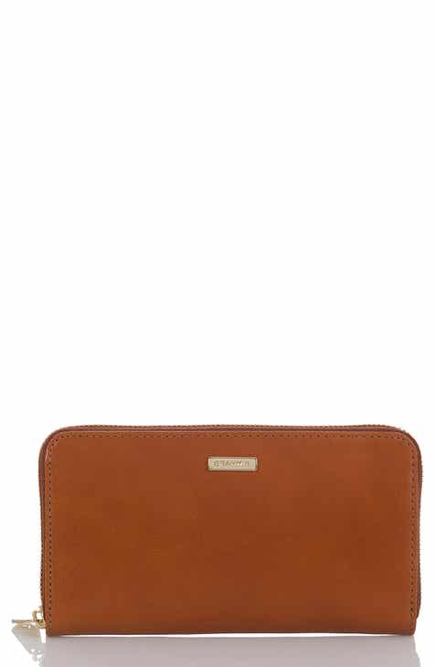 Brahmin Suri Leather Zip Around Wallet