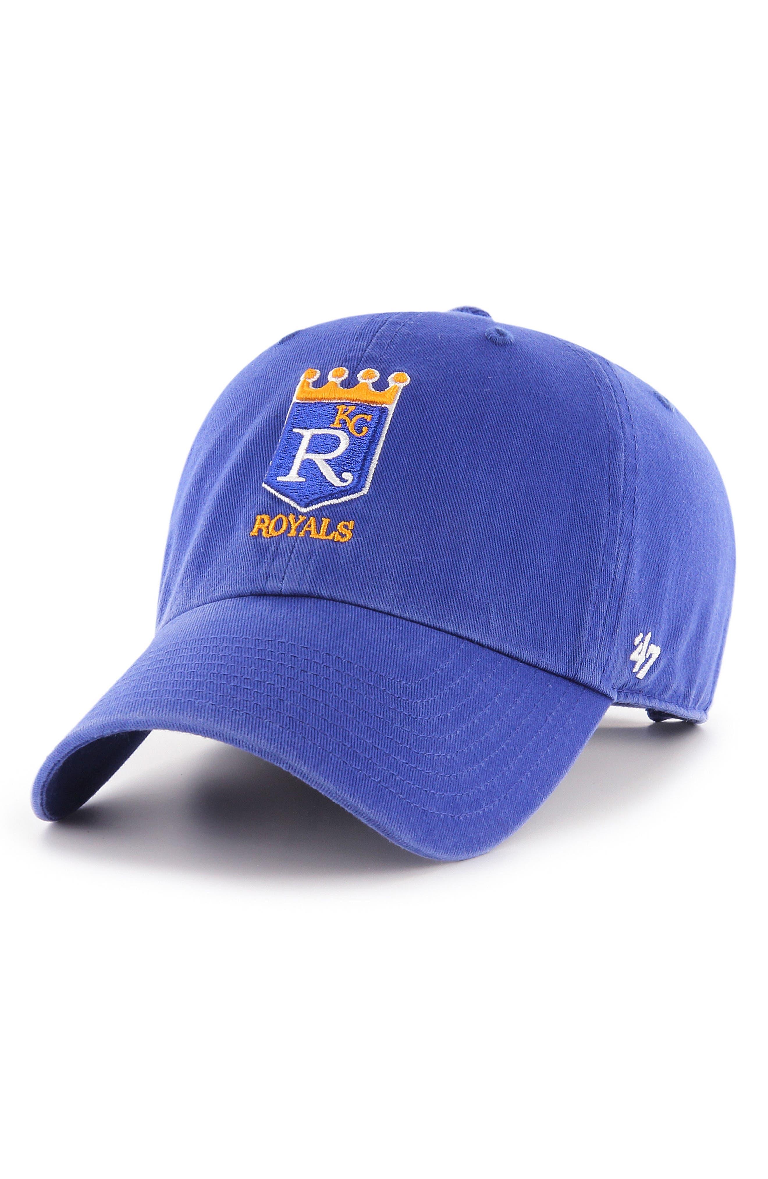 MLB Cooperstown Logo Ball Cap,                         Main,                         color, Kansas City Royals