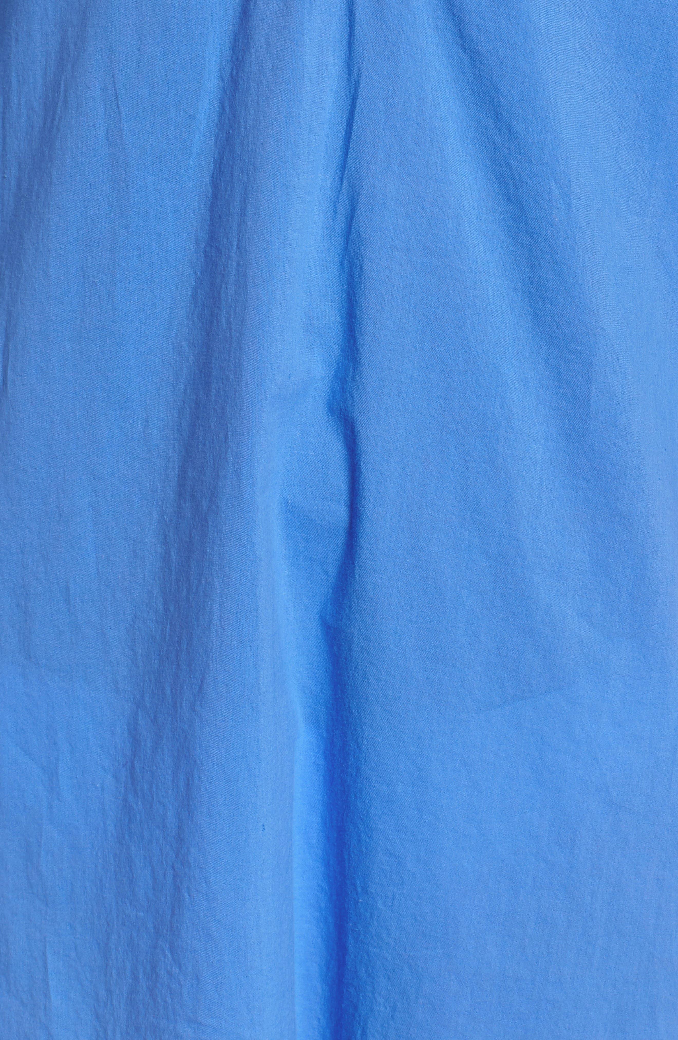 Piet Cover-Up,                             Alternate thumbnail 5, color,                             Bennet Blue