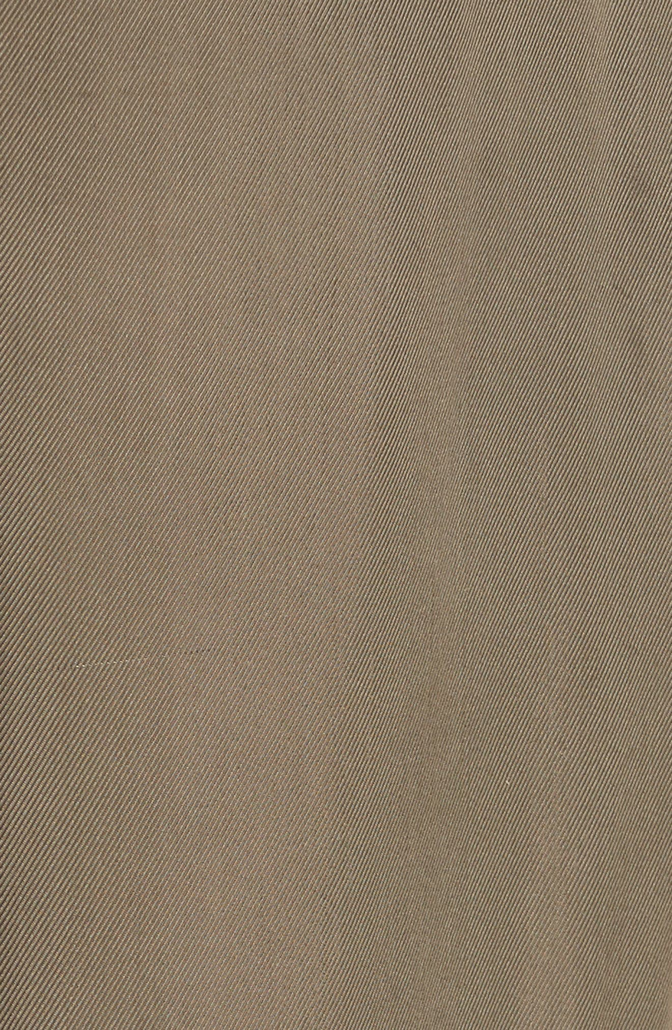 Avery Ruffle Tier Pants,                             Alternate thumbnail 5, color,                             Olive
