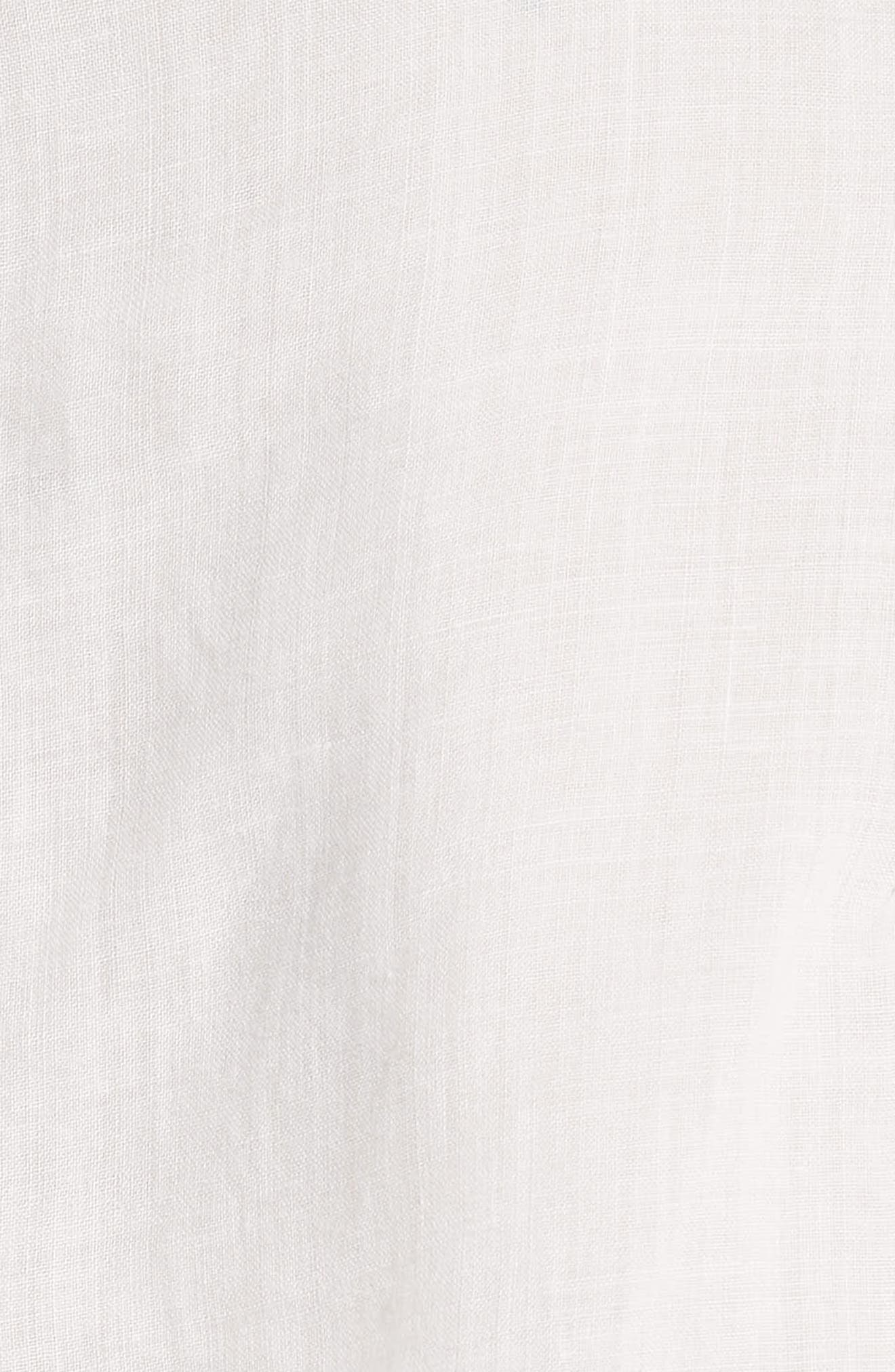 Radeli Bell Sleeve Top,                             Alternate thumbnail 5, color,                             Porcelain