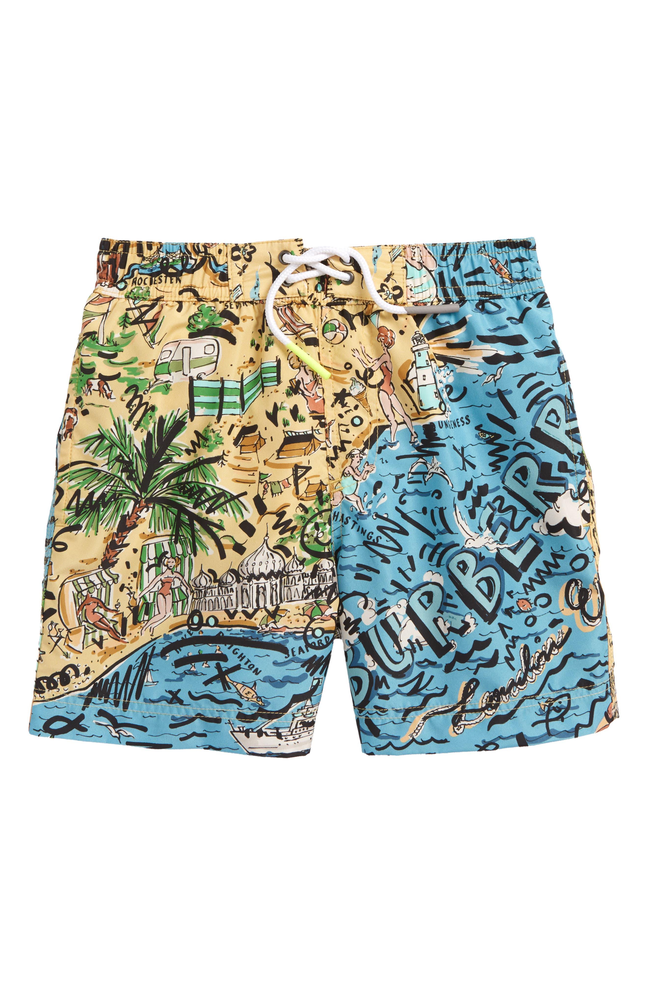 Ben Swim Trunks,                         Main,                         color, Sand