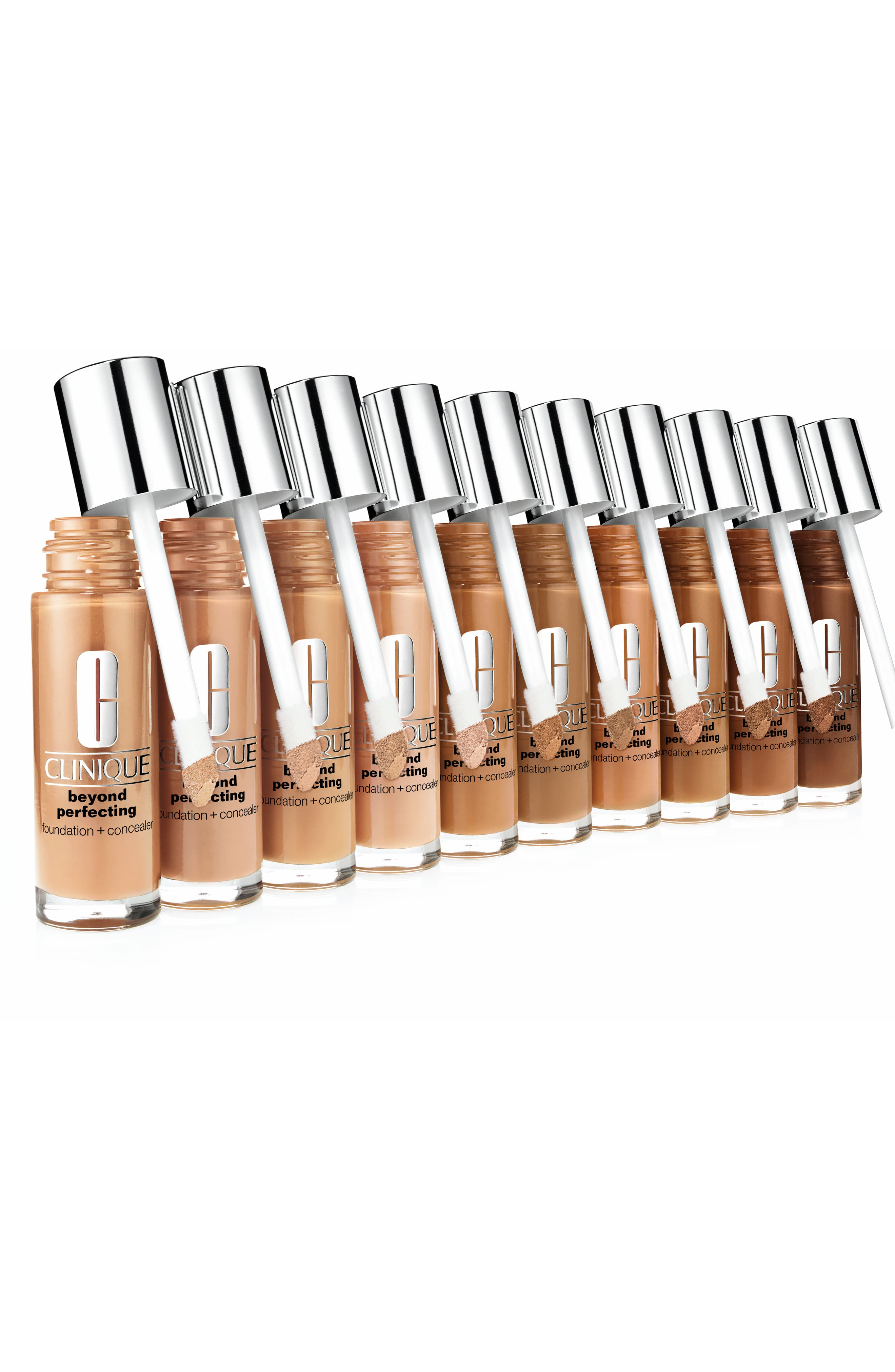 Beyond Perfecting Foundation + Concealer,                             Alternate thumbnail 3, color,