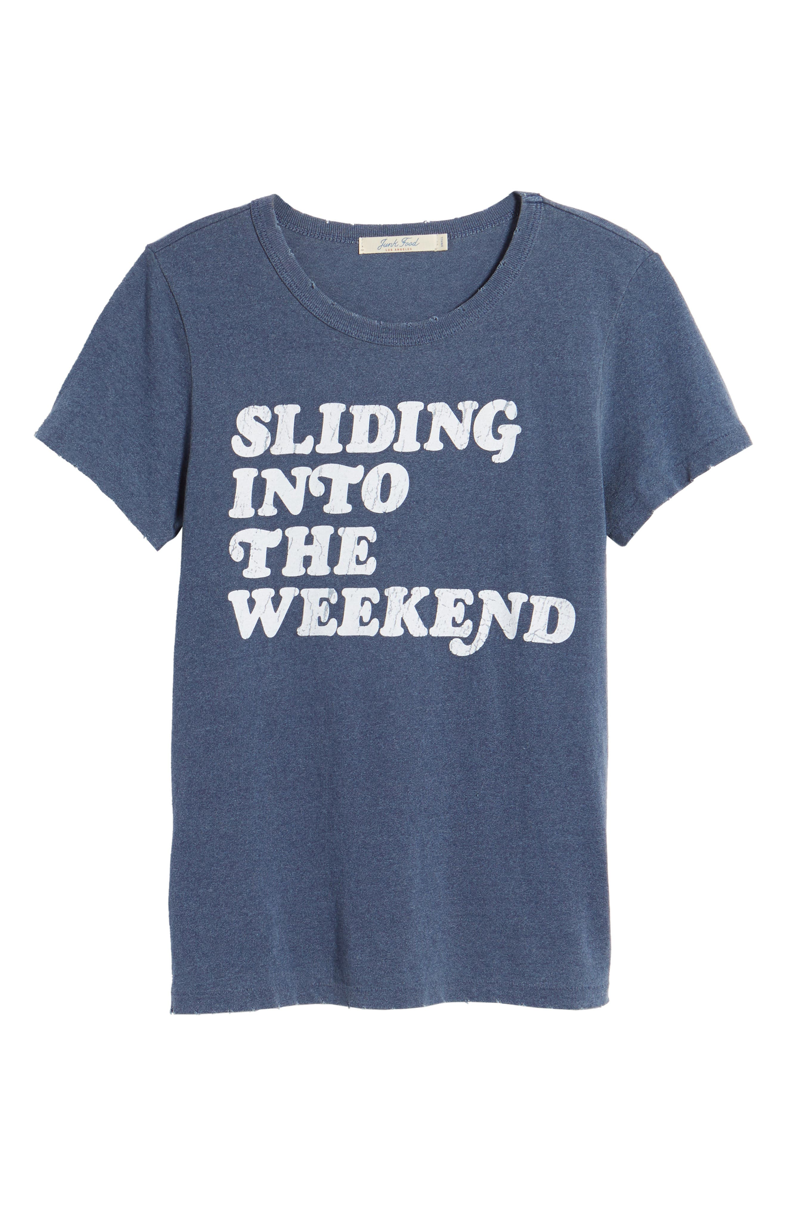 Sliding Into the Weekend Tee,                             Alternate thumbnail 7, color,                             Trnvy