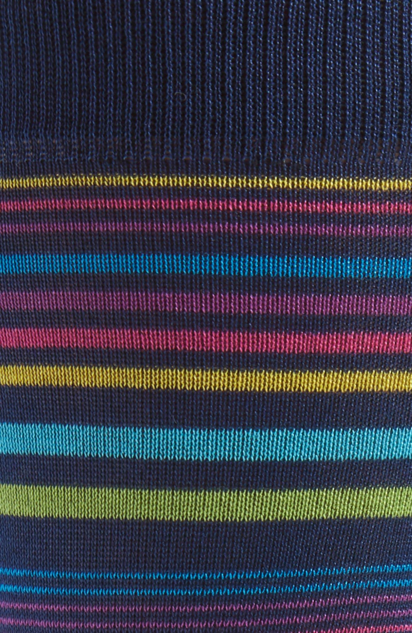 Stripe Socks,                             Alternate thumbnail 2, color,                             Paradise