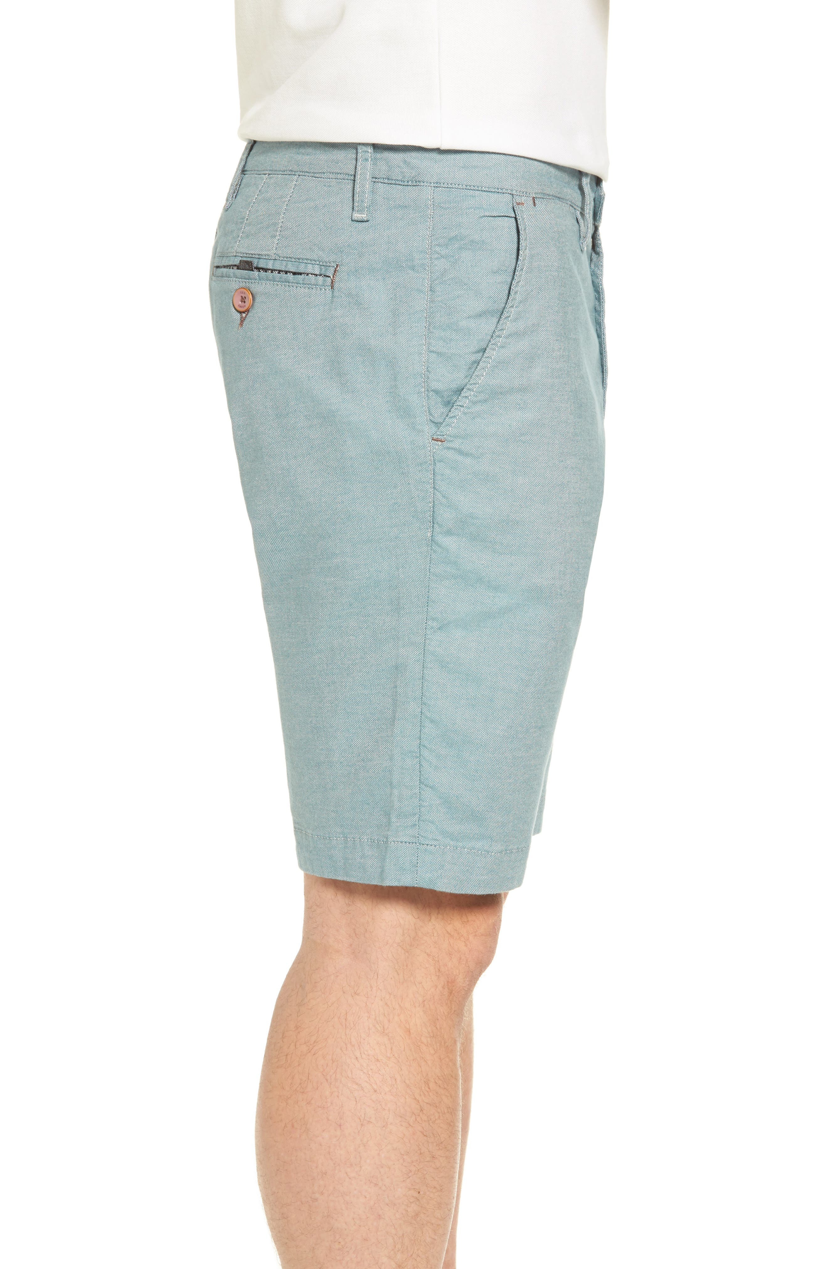Alternate Image 3  - Ted Baker London Herbott Stretch Cotton Shorts