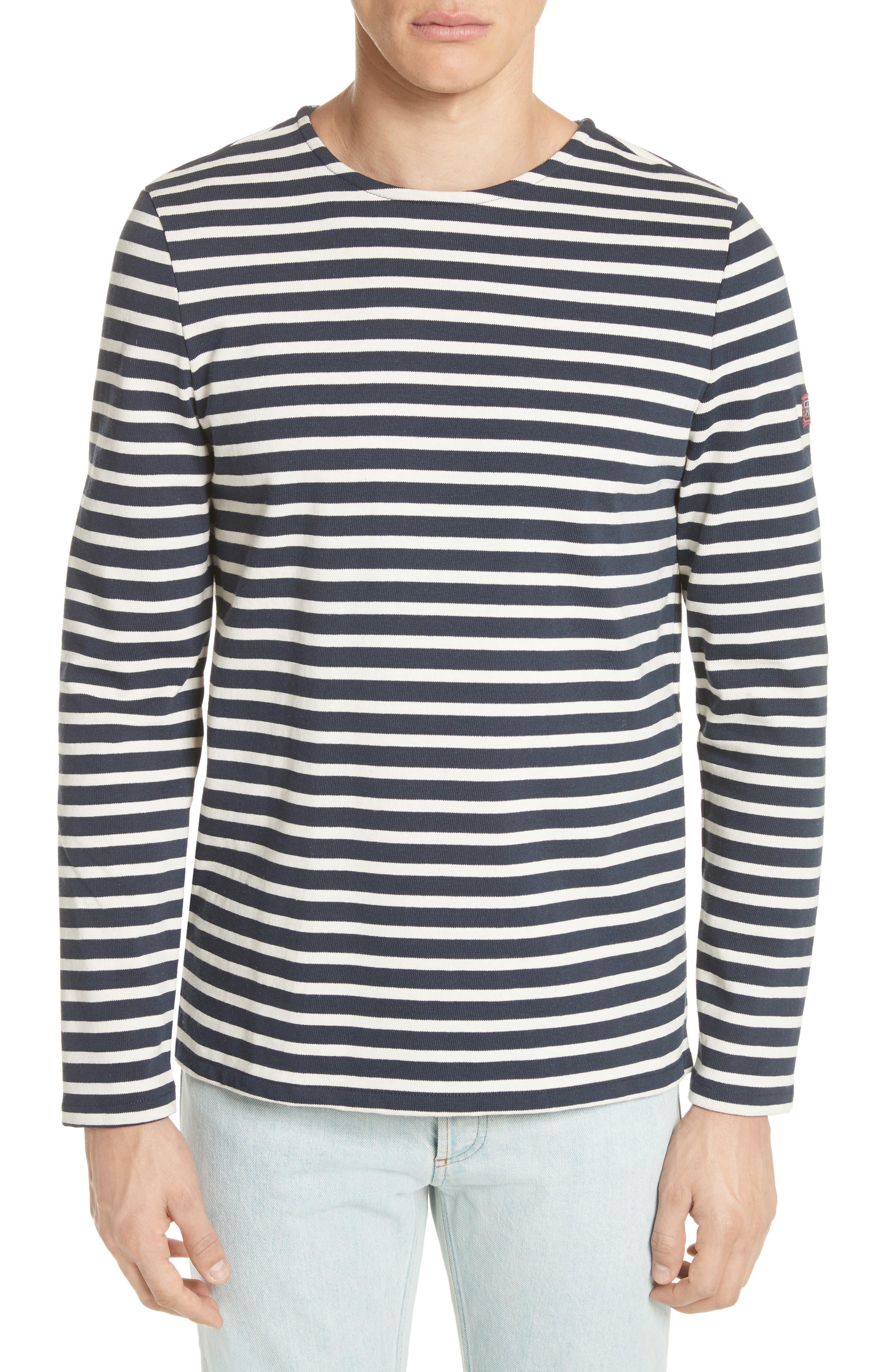 A.P.C. Marinière Matt Stripe Long Sleeve T-Shirt