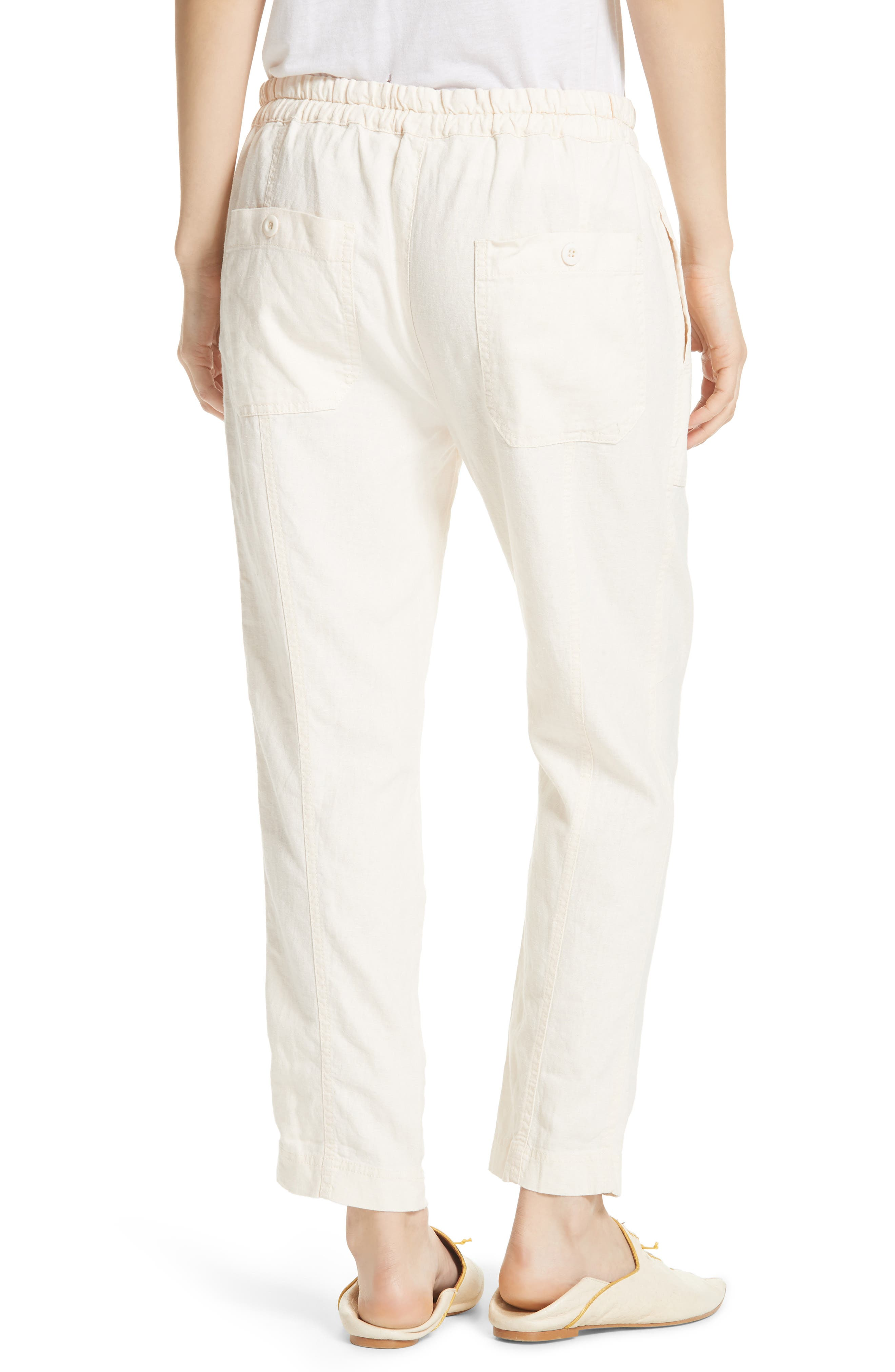 Palmer Skinny Utility Pants,                             Alternate thumbnail 2, color,                             Ivory