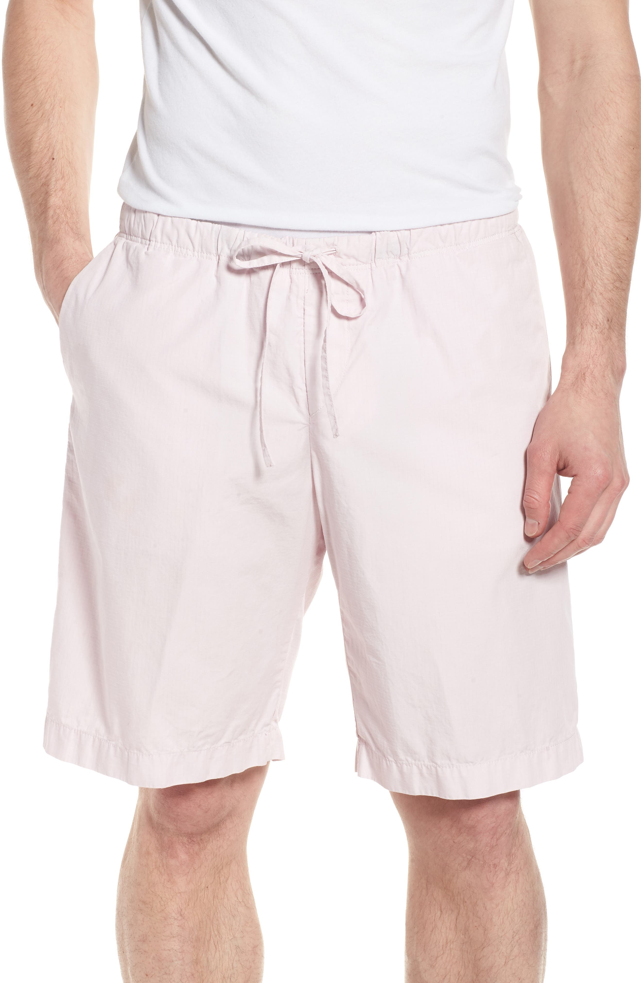 Passeo Cotton Shorts,                         Main,                         color, Pink