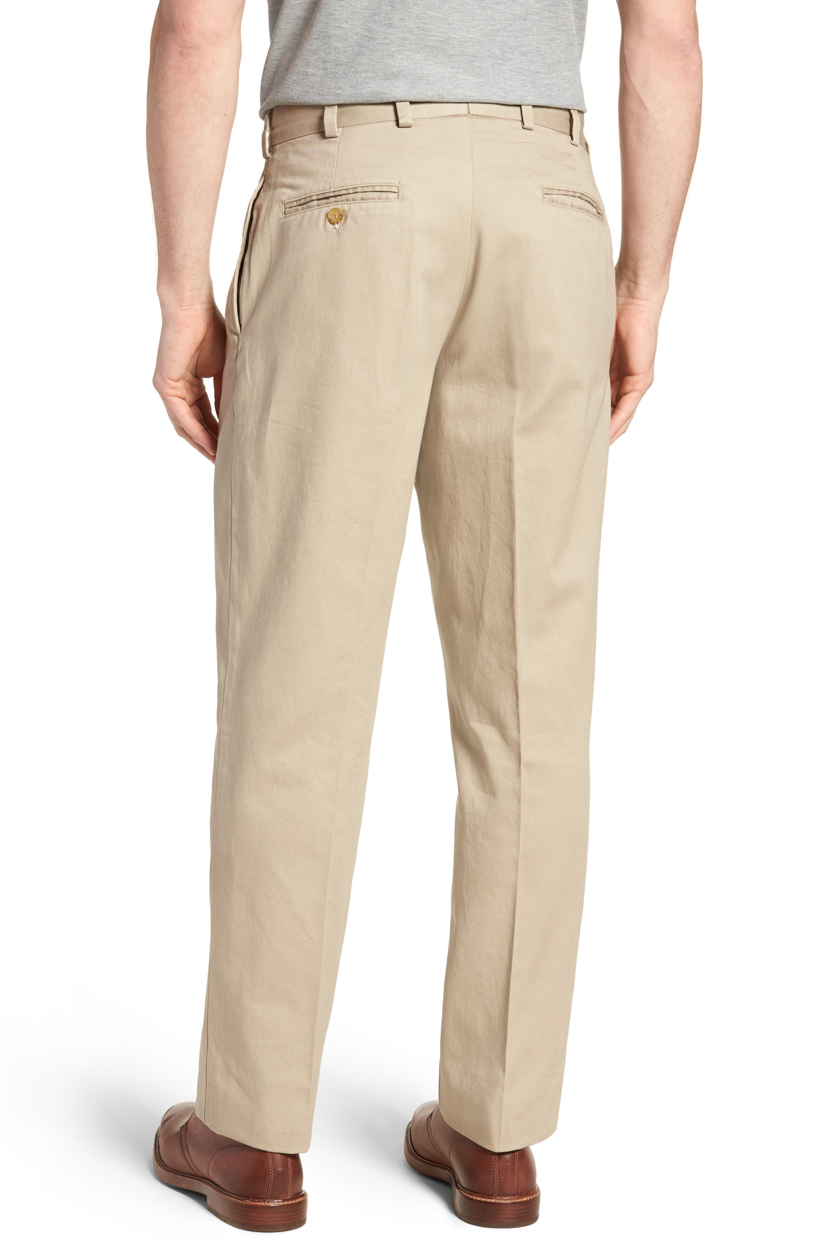 M2 Classic Fit Pleated Vintage Twill Pants,                             Alternate thumbnail 2, color,                             Khaki