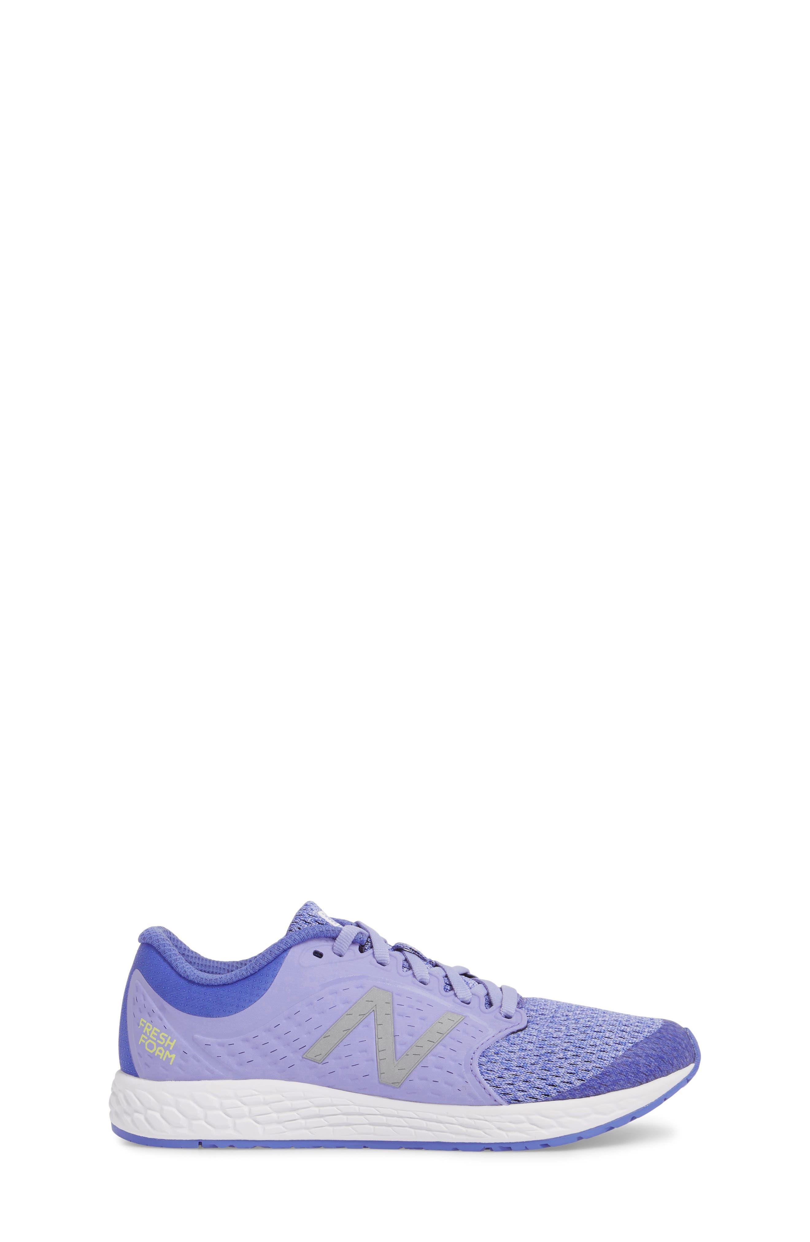 Fresh Foam Zante v4 Running Shoe,                             Alternate thumbnail 3, color,                             Ice Violet