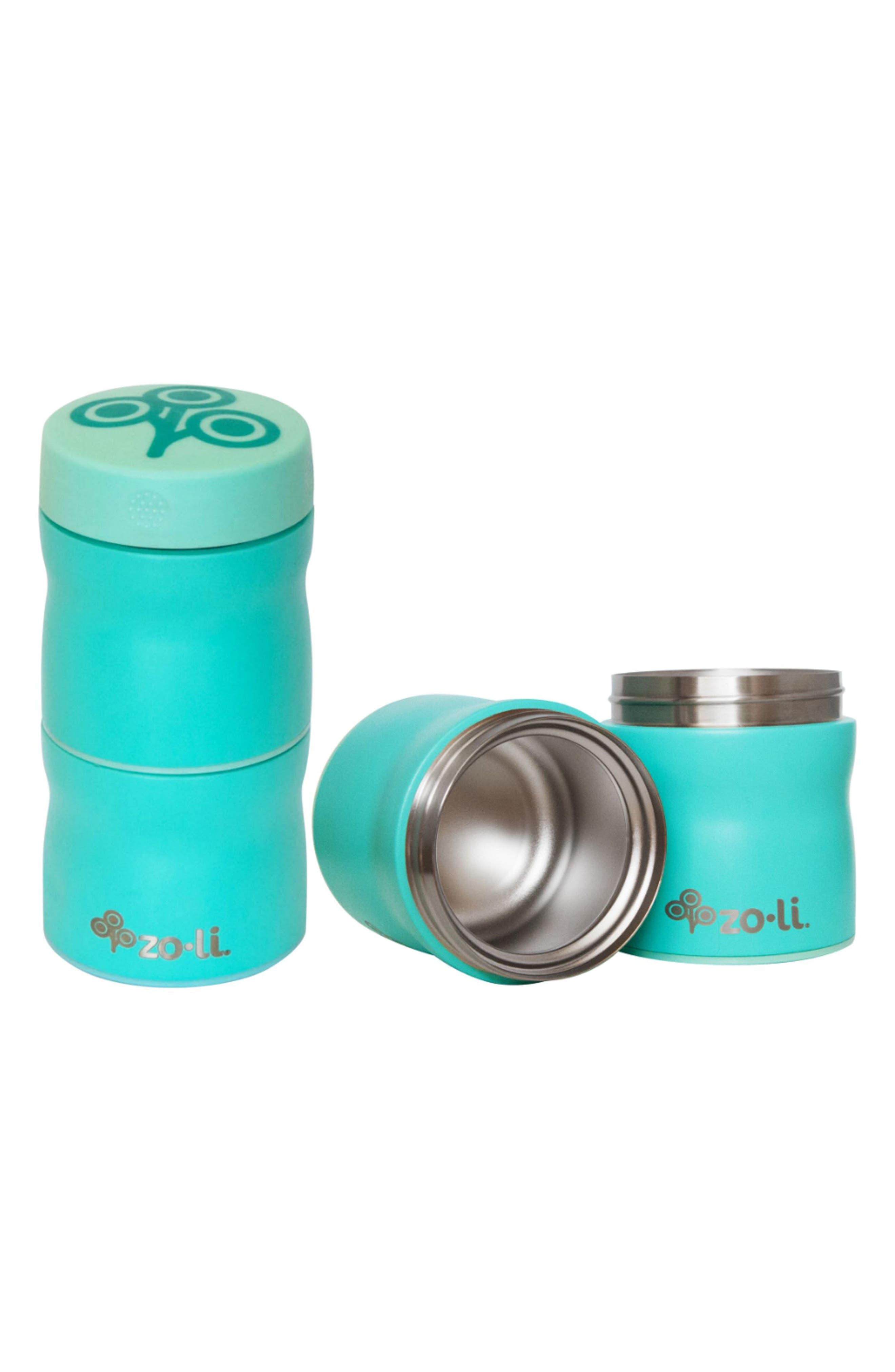 This & That Stackable Insulated Containers,                         Main,                         color, Mint