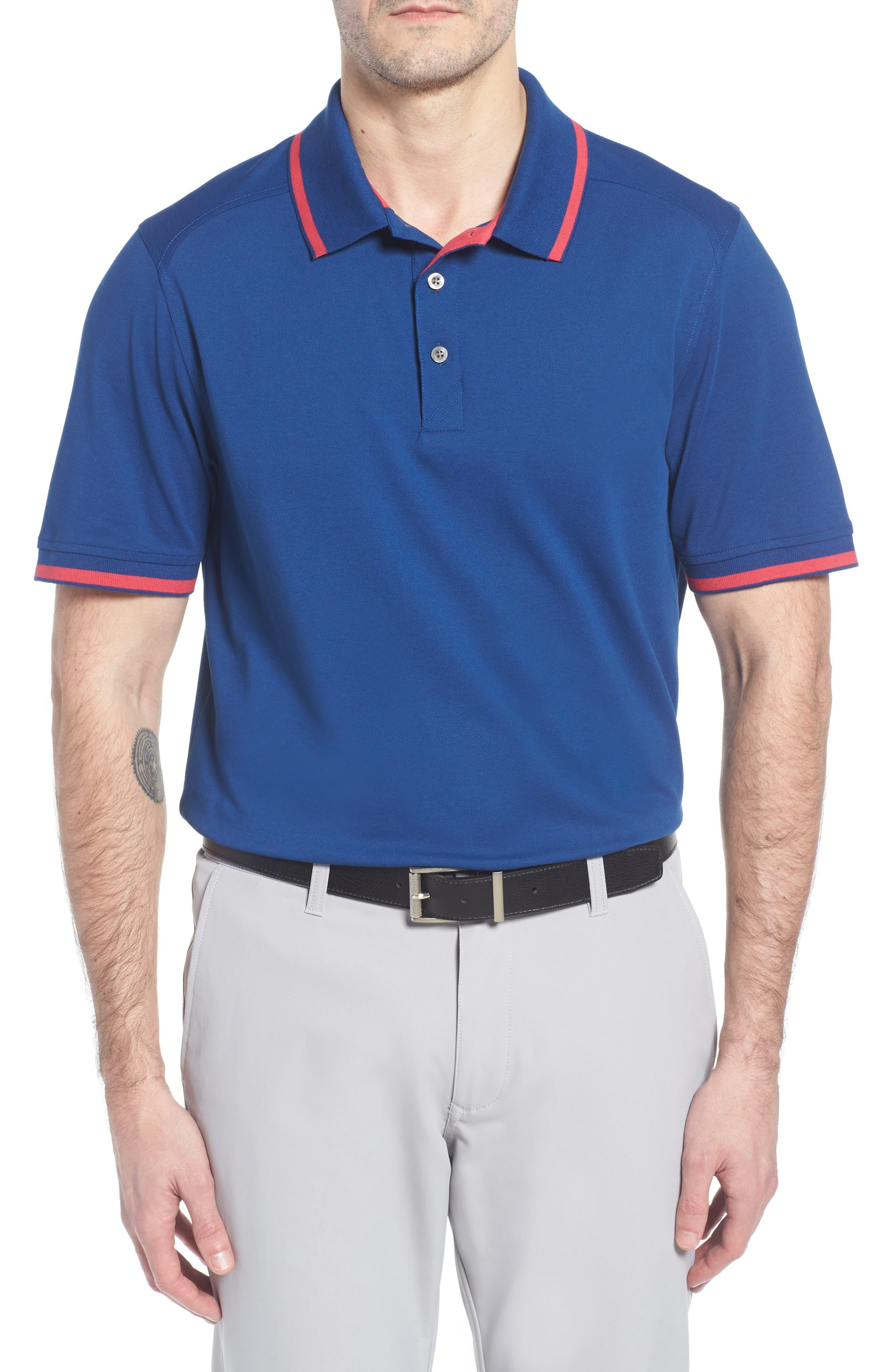Advantage Golf Polo,                             Main thumbnail 1, color,                             Nautical/ Virtual