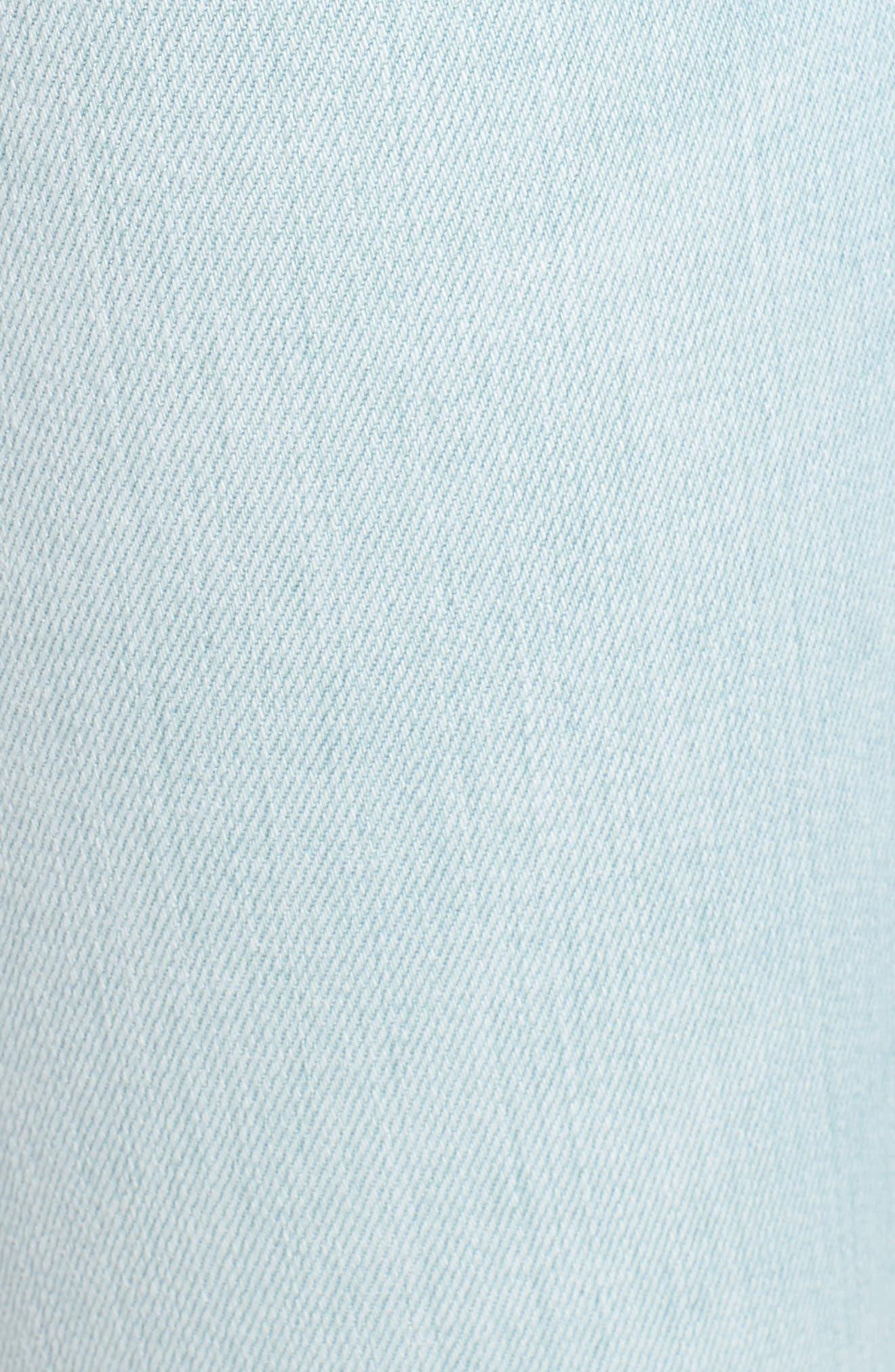 Krista Ankle Super Skinny Jeans,                             Alternate thumbnail 6, color,                             In Love