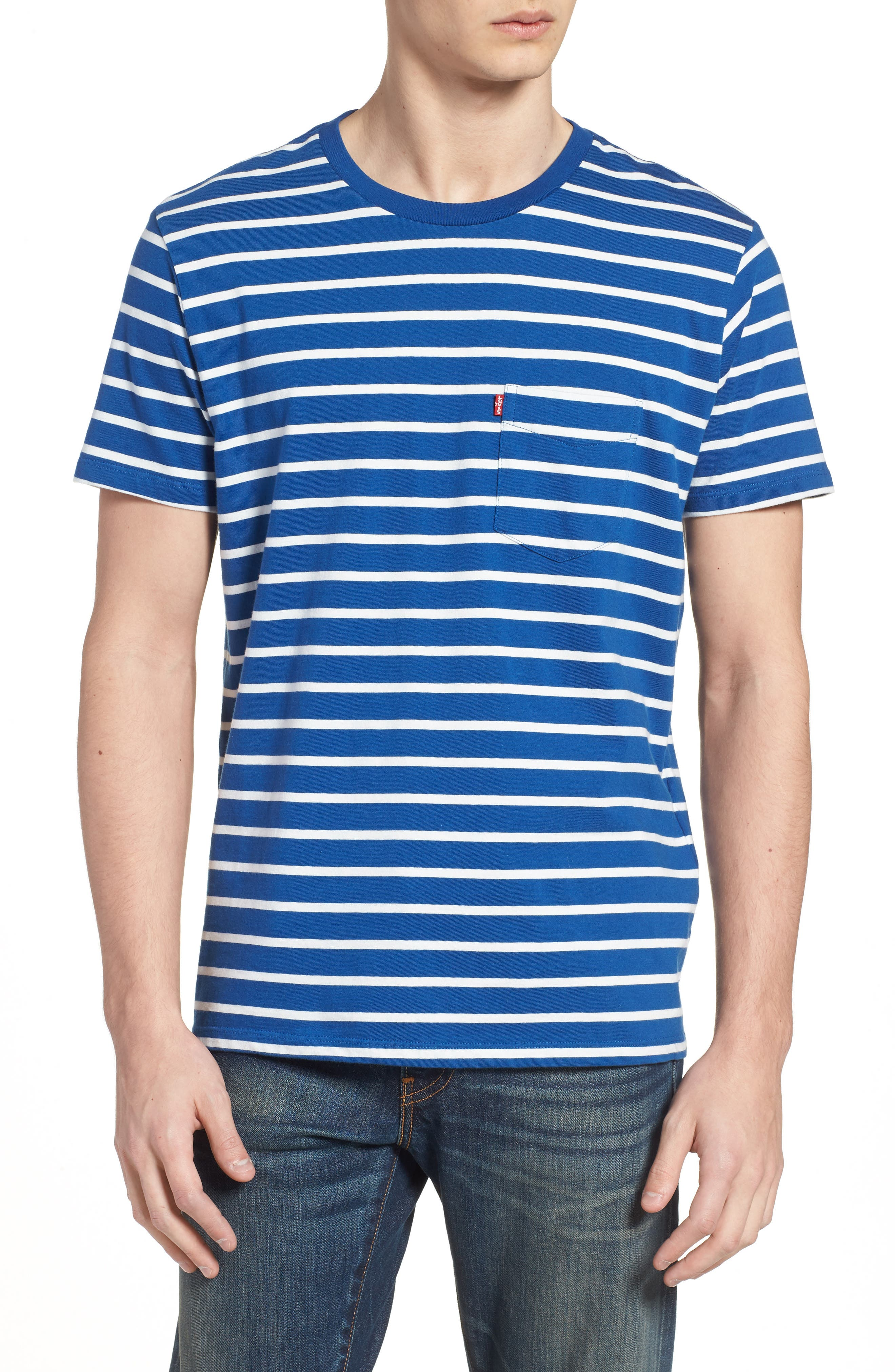 Levi's® Stripe Classic Pocket T-Shirt