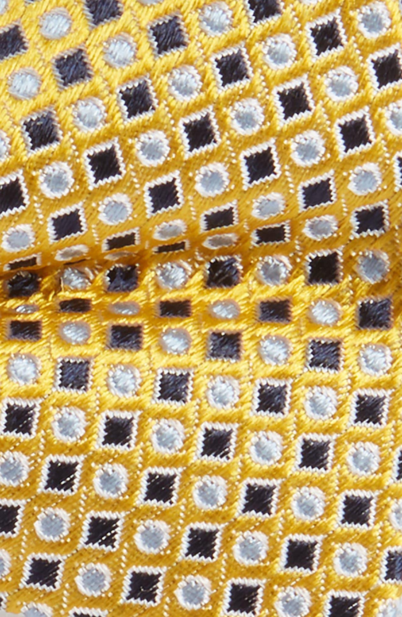 Diamonds & Dots Silk Bow Tie,                             Alternate thumbnail 2, color,                             700