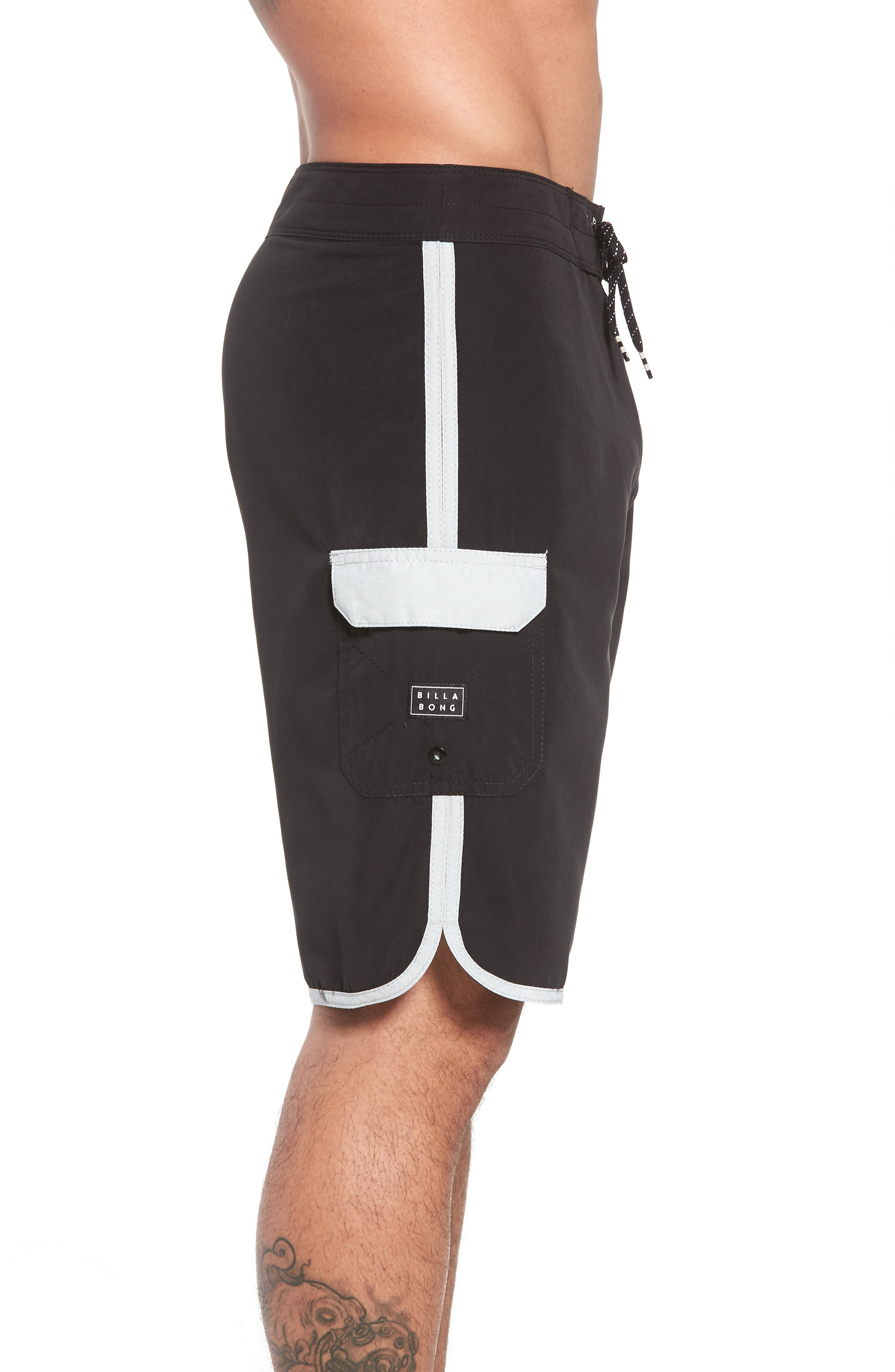 73 OG Board Shorts,                             Alternate thumbnail 4, color,                             Black