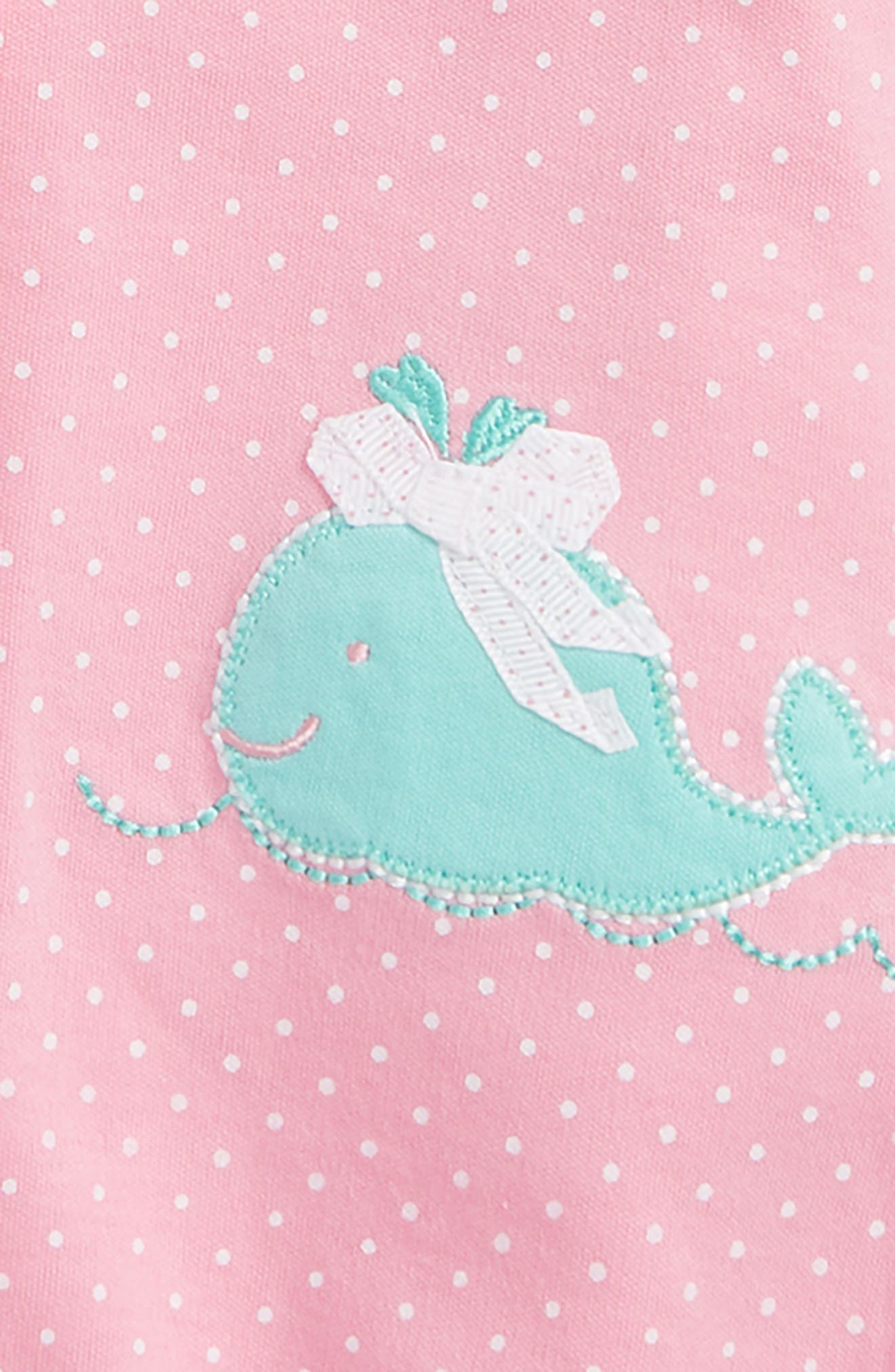 Whale 2-Pack Rompers,                             Alternate thumbnail 2, color,                             Pink Multi