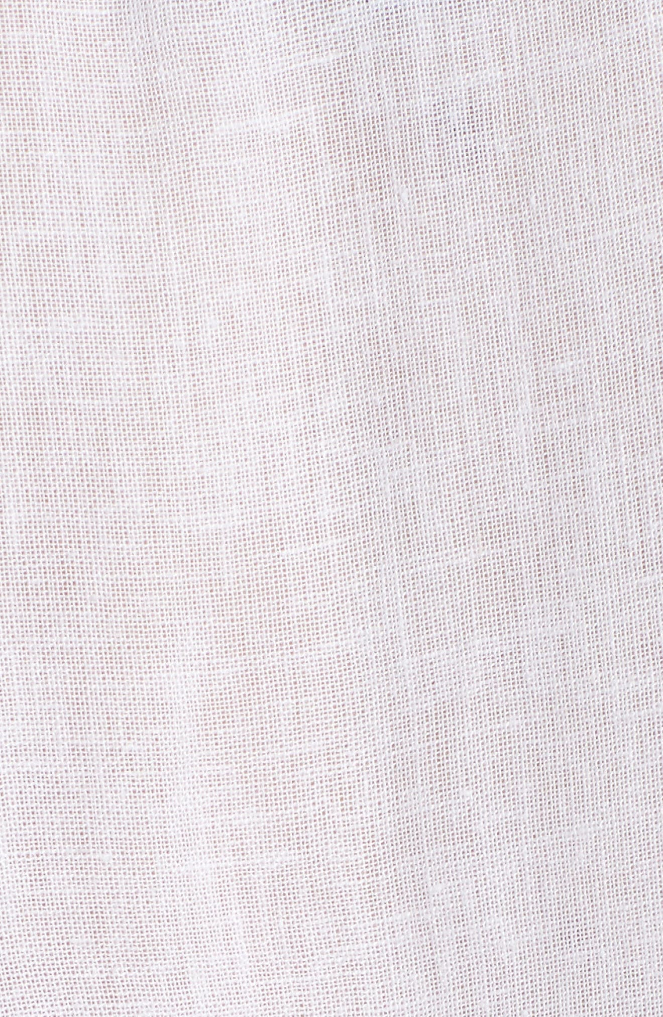 Sansa Minidress,                             Alternate thumbnail 5, color,                             White
