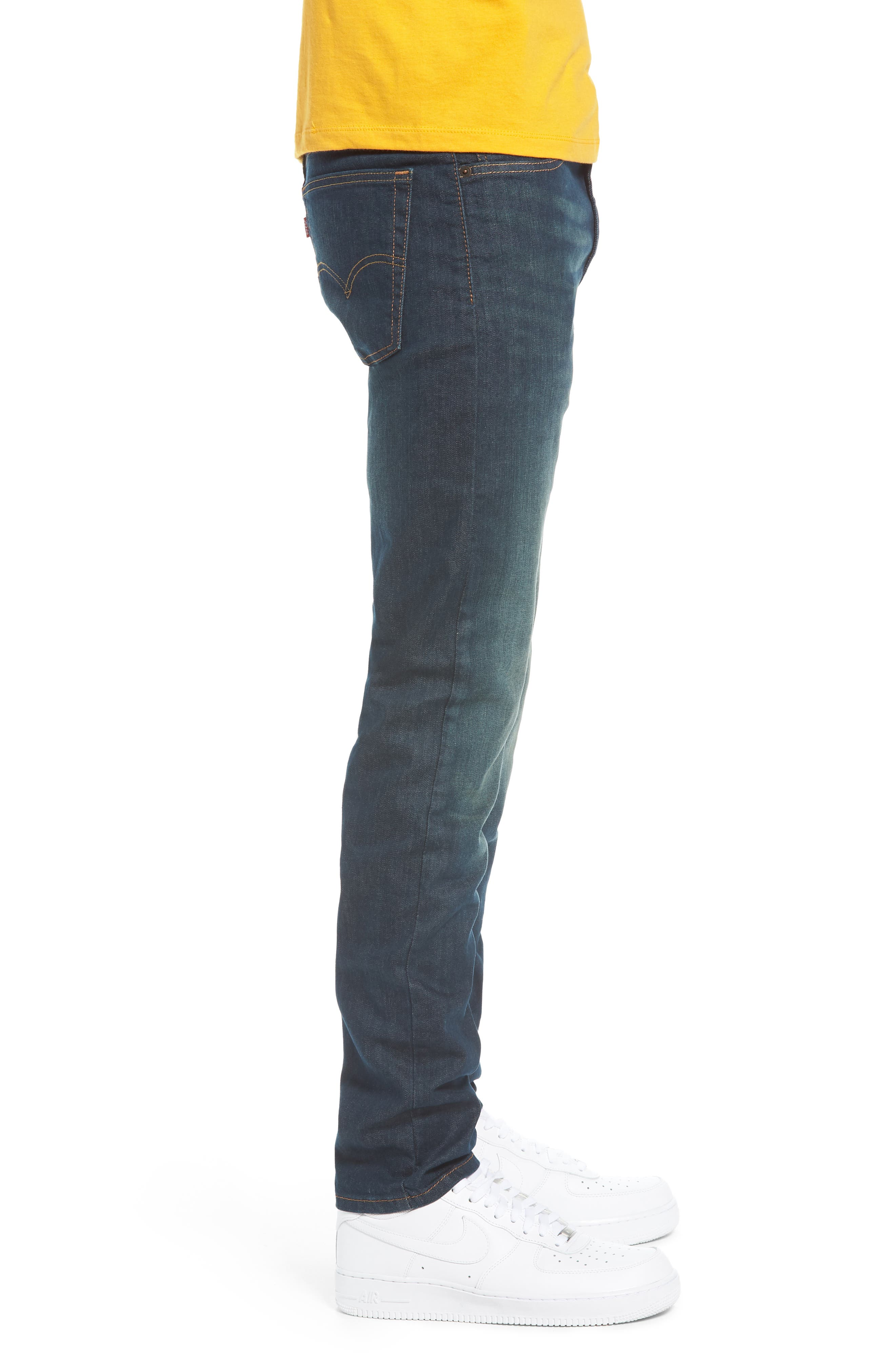 510<sup>™</sup> Skinny Fit Jeans,                             Alternate thumbnail 3, color,                             Midnight