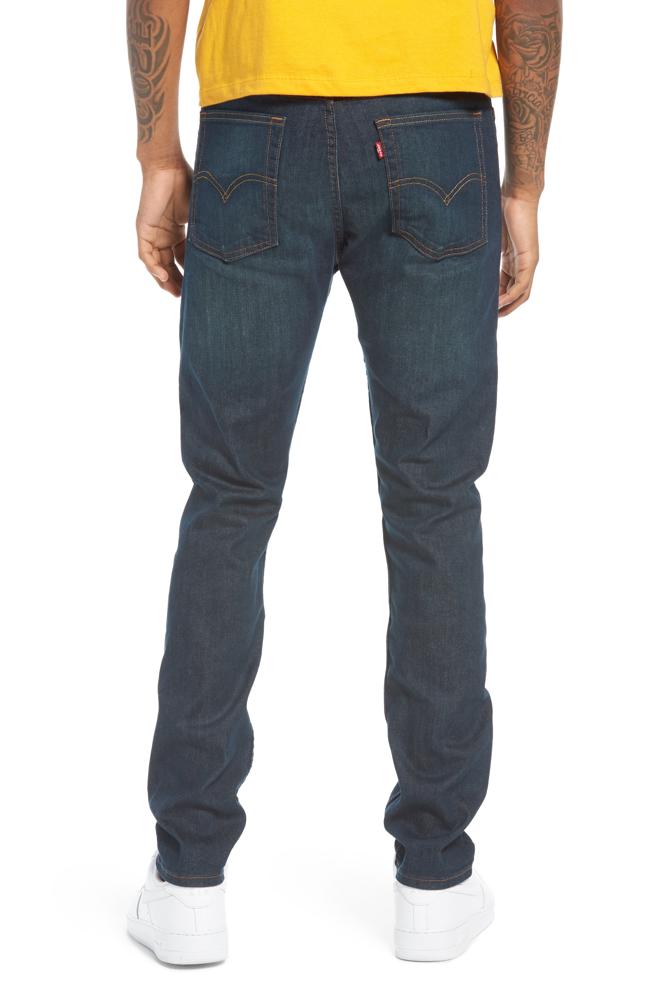 510<sup>™</sup> Skinny Fit Jeans,                             Alternate thumbnail 2, color,                             Midnight