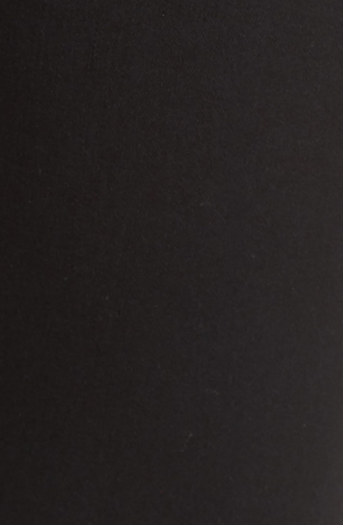 Jamie Ripped Jeans,                             Alternate thumbnail 6, color,                             Black