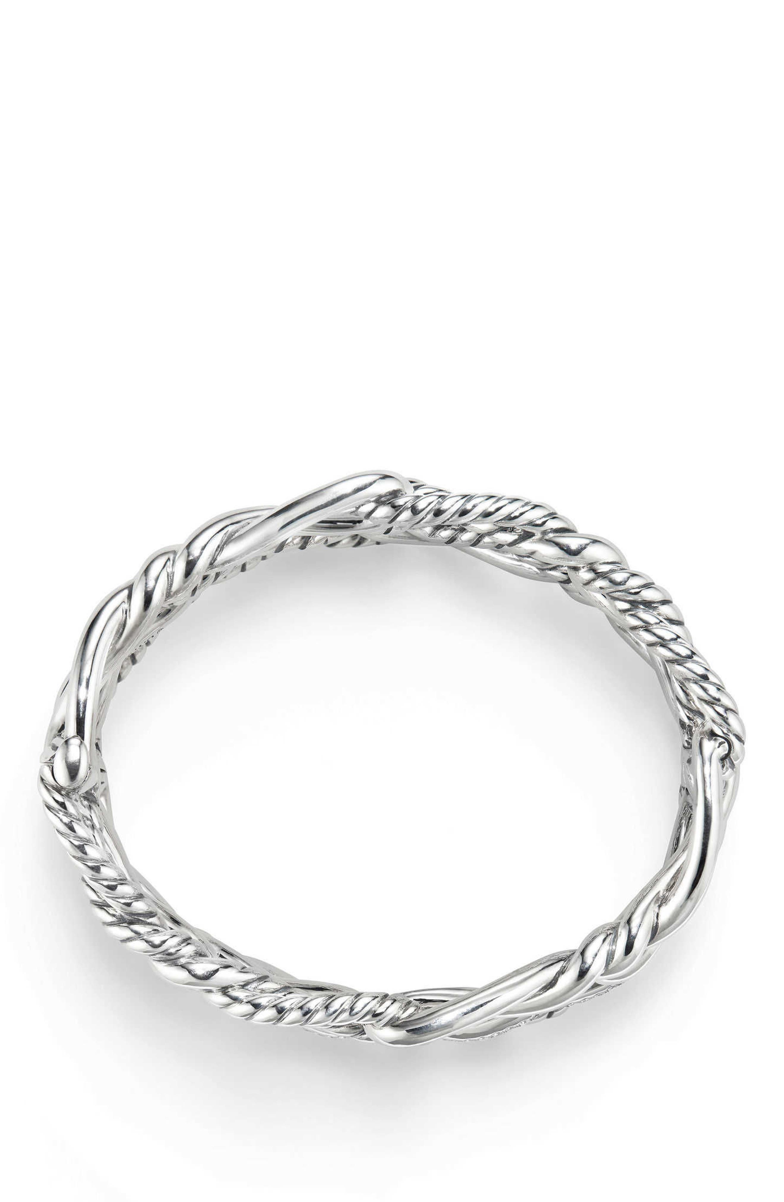 Alternate Image 2  - David Yurman Continuance Multi Row Cuff Bracelet with Diamonds