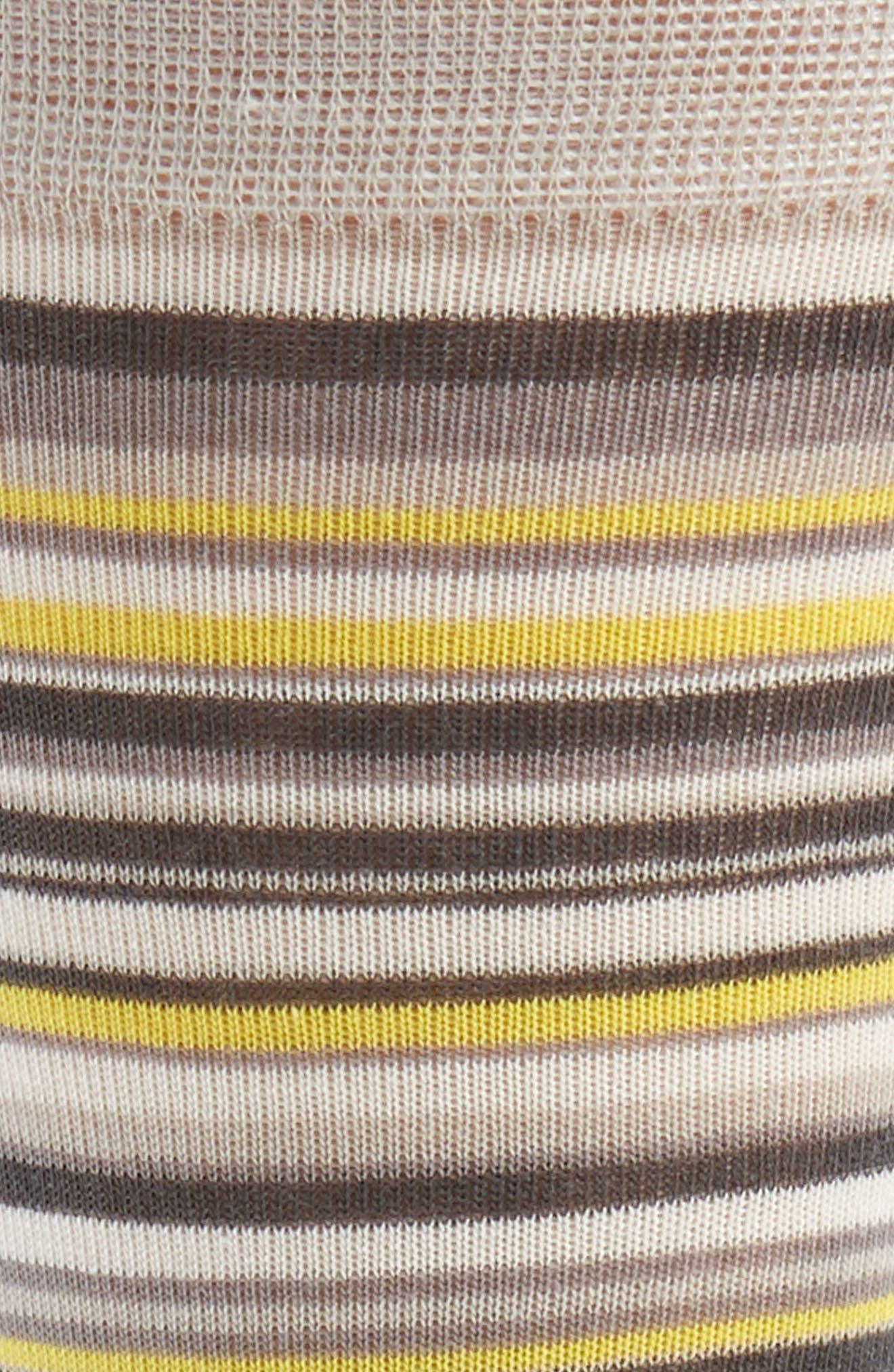 Town Stripe Crew Socks,                             Alternate thumbnail 2, color,                             Vapor Grey