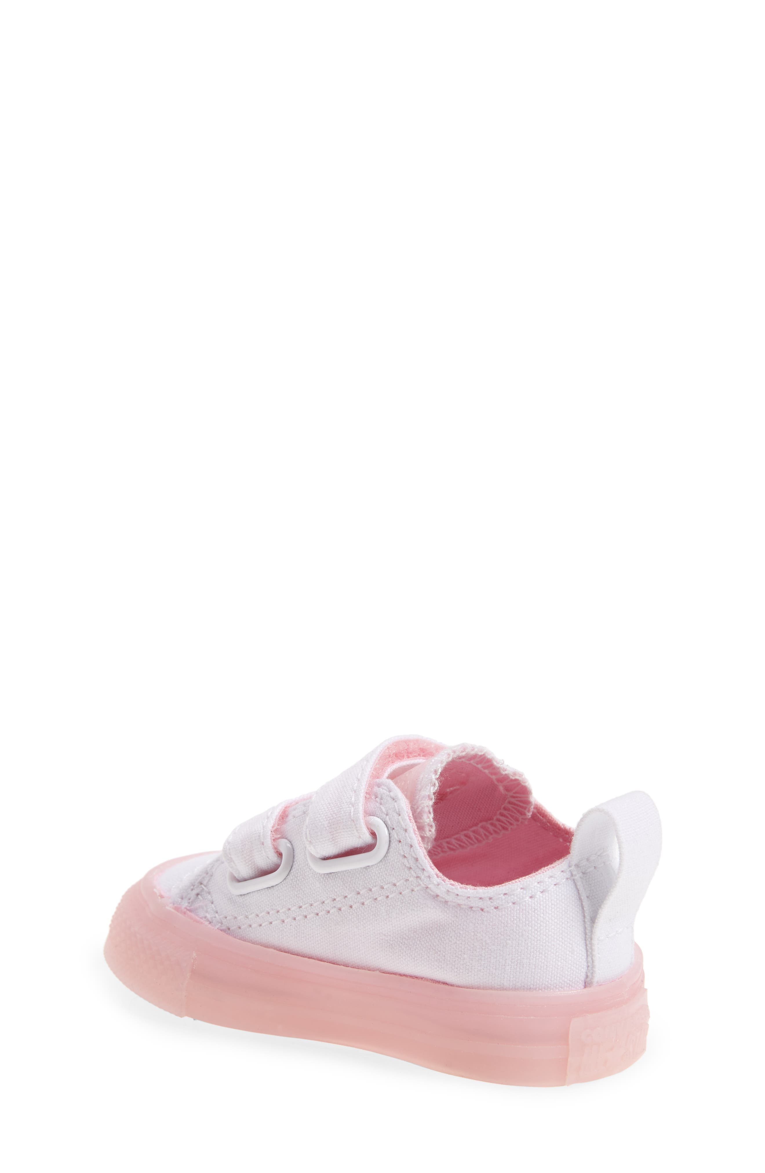 Chuck Taylor<sup>®</sup> All Star<sup>®</sup> Jelly Sneaker,                             Alternate thumbnail 2, color,                             White/ Cherry