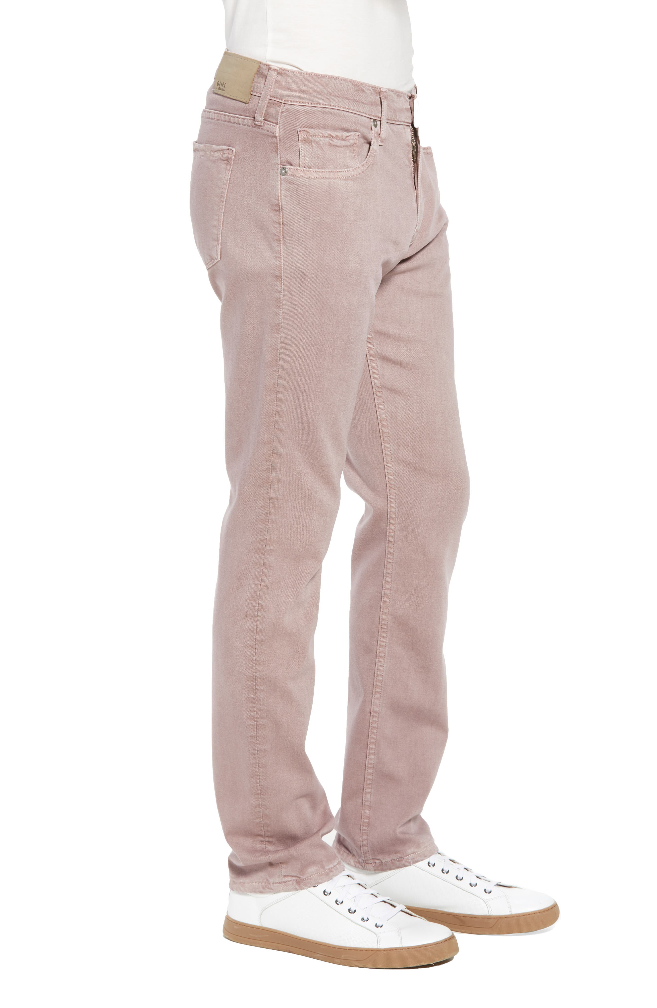 Federal Slim Straight Fit Jeans,                             Alternate thumbnail 3, color,                             Vintage Henna