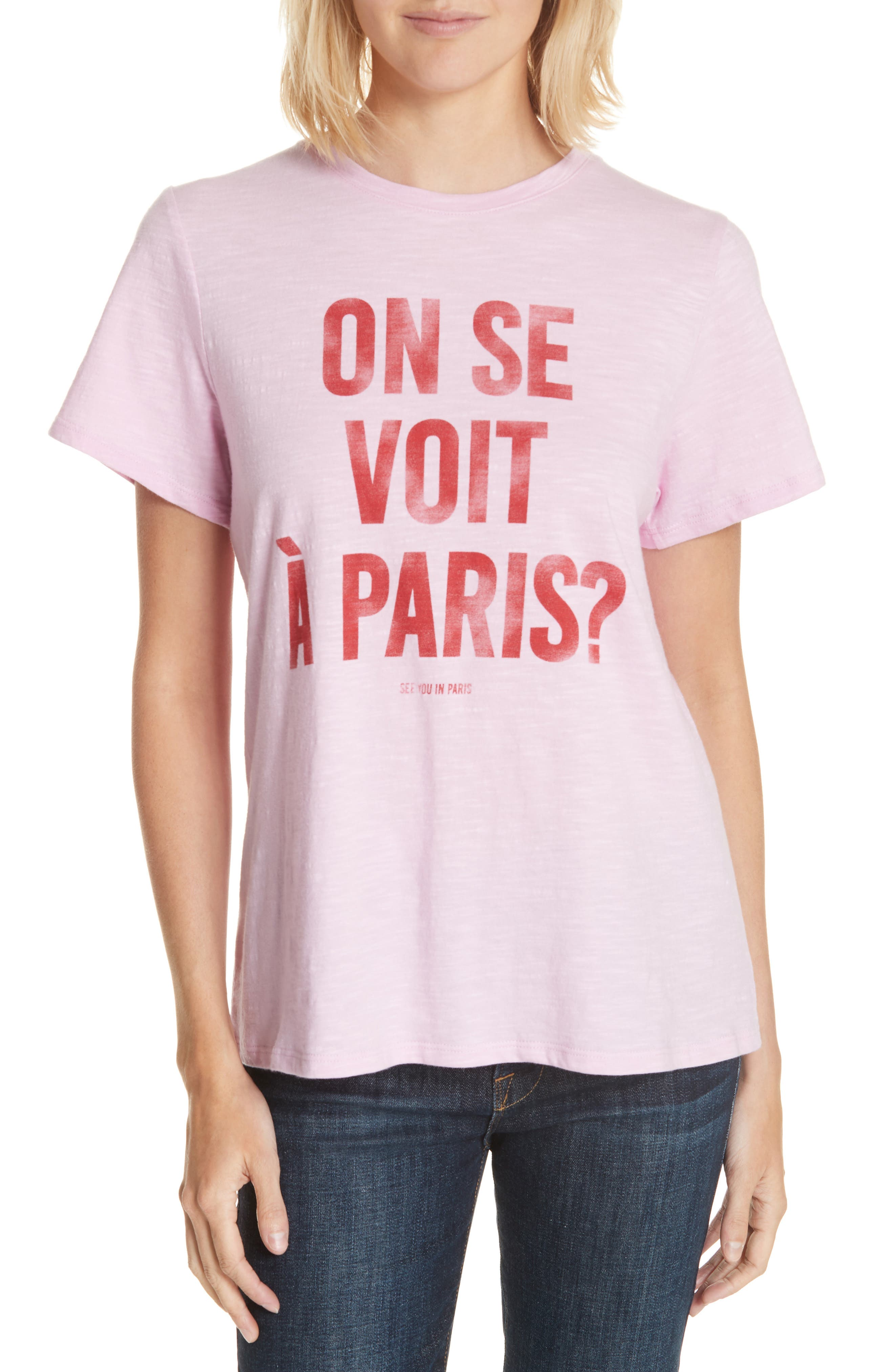 See You In Paris Tee by Cinq À Sept