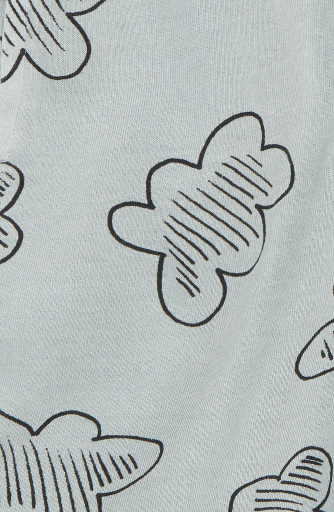 Print Shorts,                             Alternate thumbnail 2, color,                             Grey Quarry Clouds
