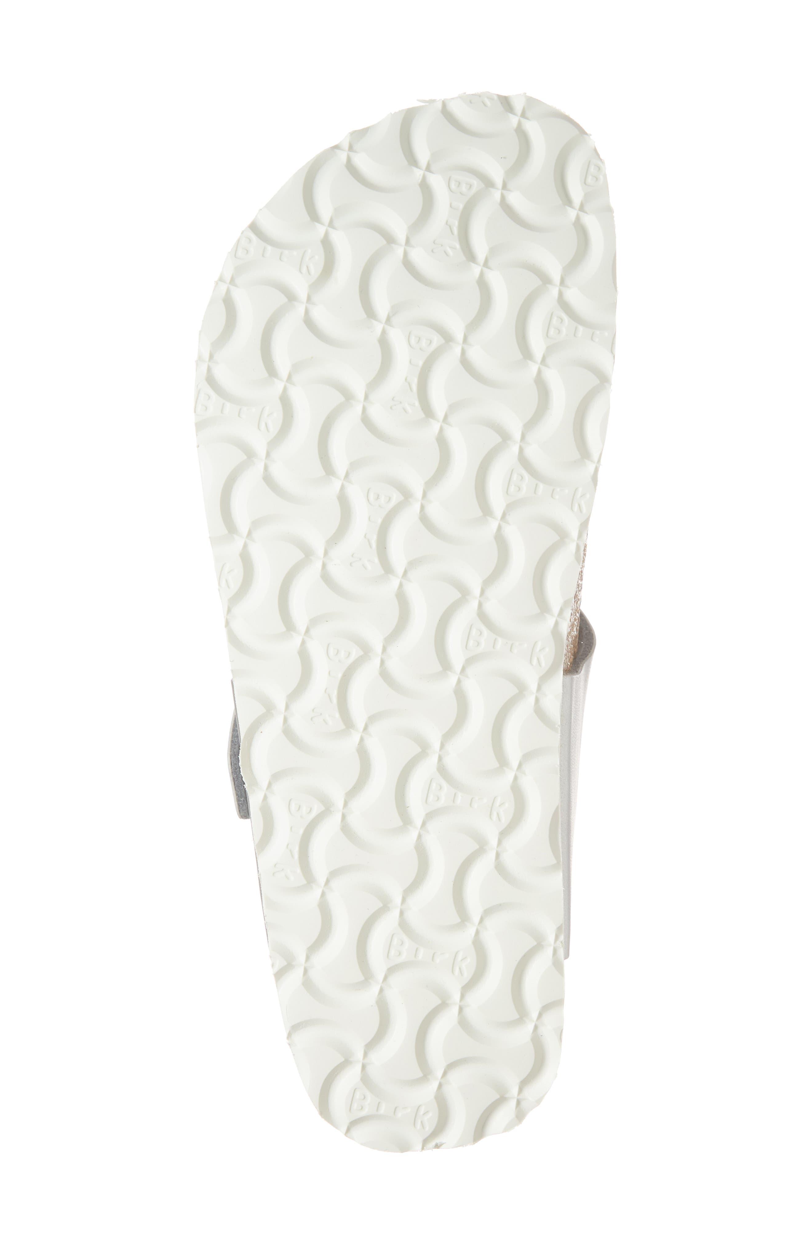 Papillio by Birkenstock 'Gizeh' Birko-Flor Platform Flip Flop Sandal,                             Alternate thumbnail 7, color,                             Mono Marble Silver Leather