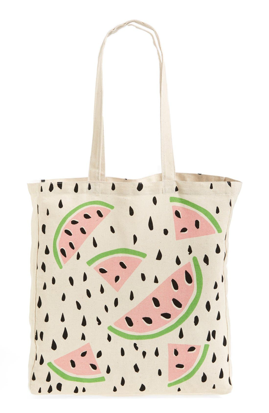 Alternate Image 1 Selected - Tri-Coastal Design 'Watermelon' Tote