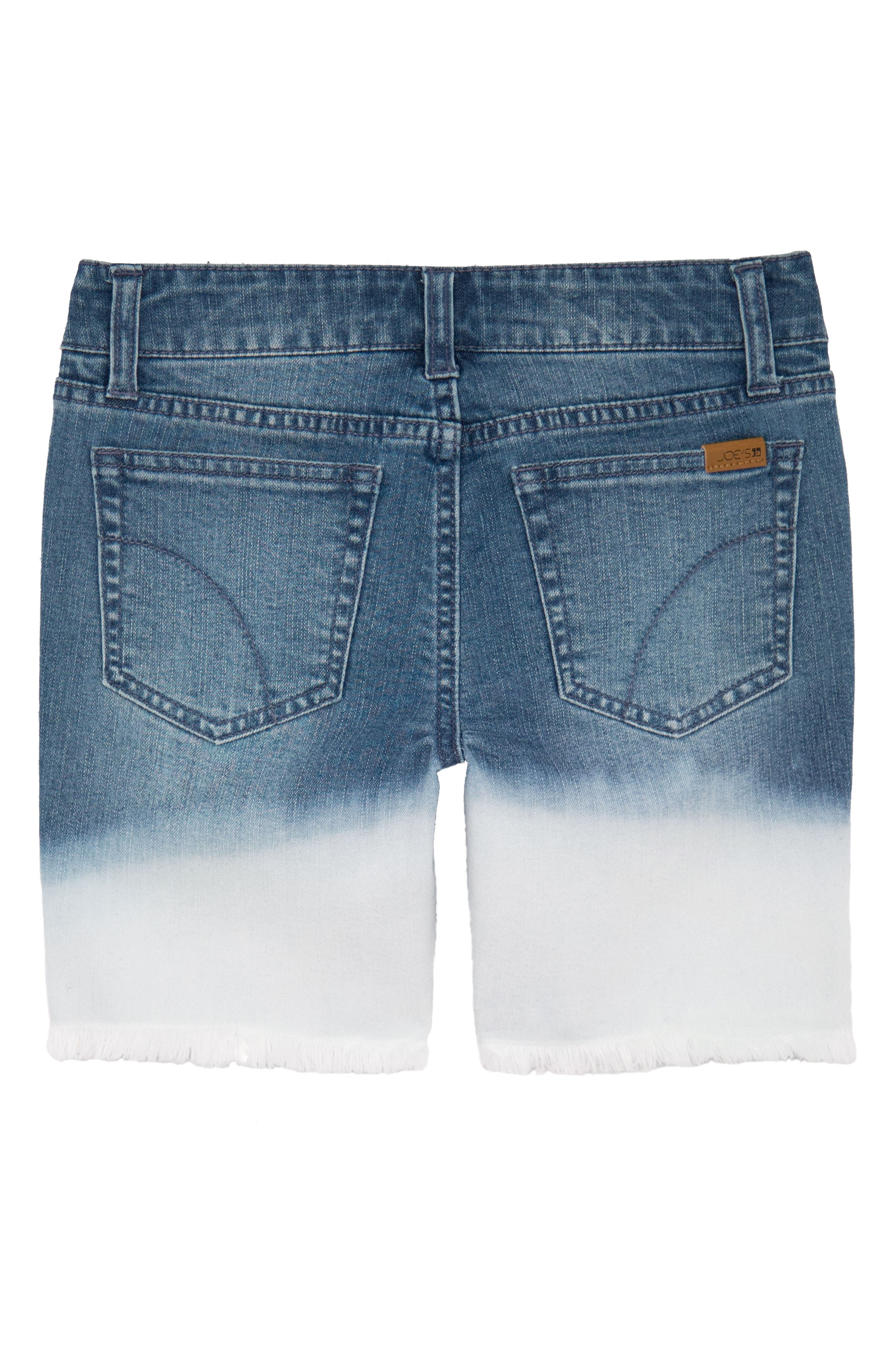 Joe's Distressed Bleach Denim Shorts,                             Alternate thumbnail 2, color,                             Wve-Wave