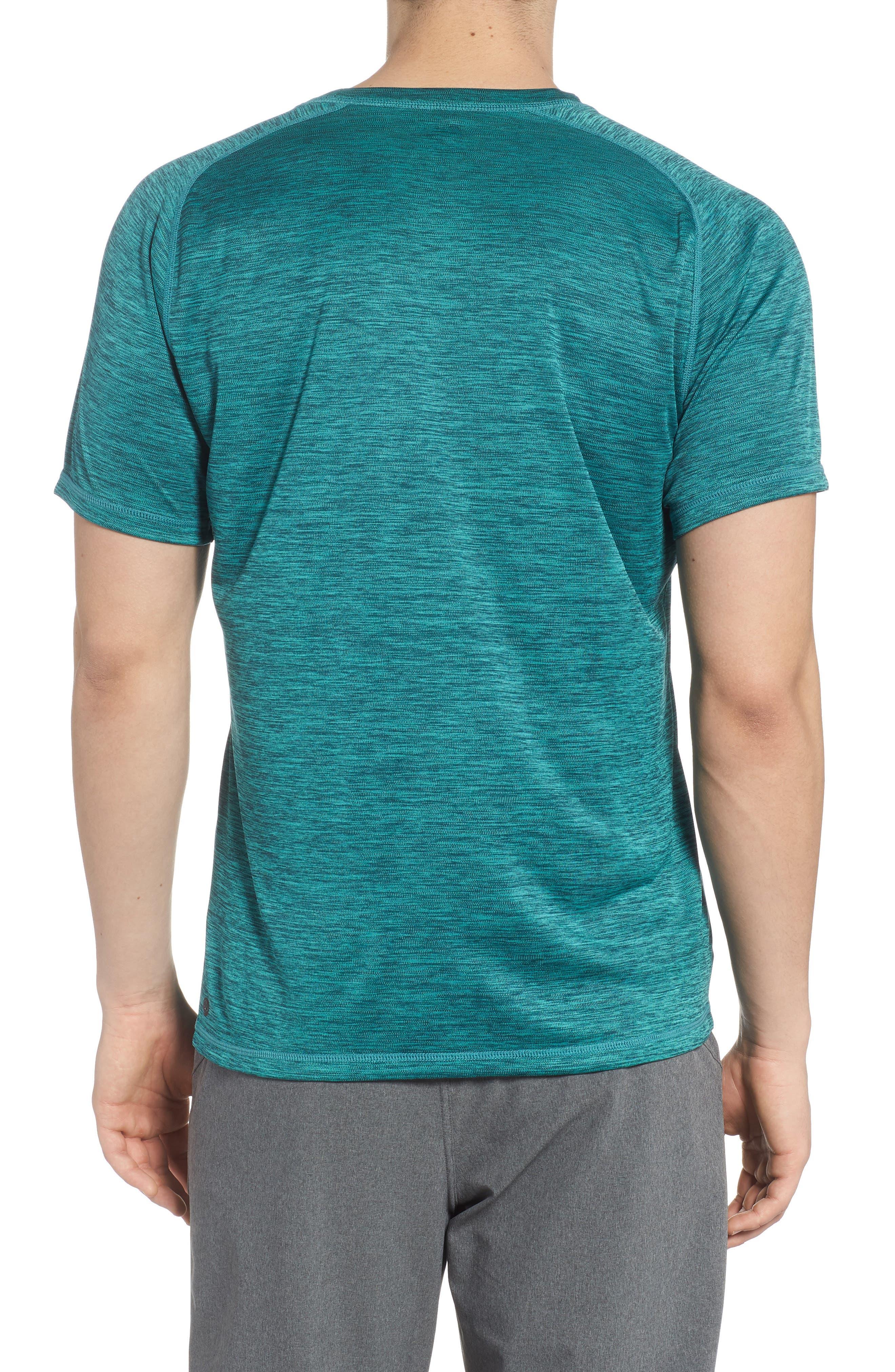 Triplite T-Shirt,                             Alternate thumbnail 2, color,                             Teal Tourmaline Melange