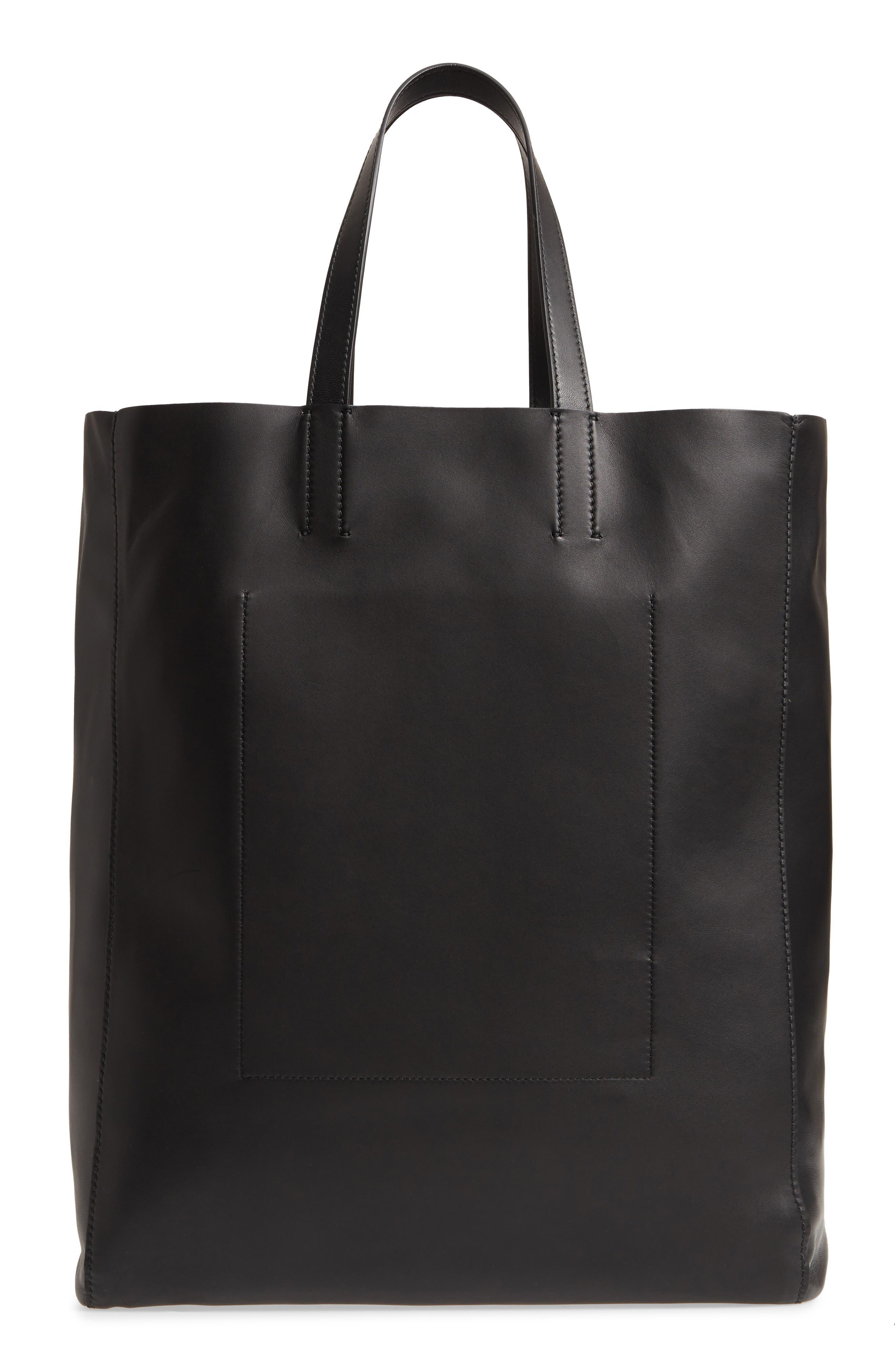 x Andy Warhol Foundation Dennis Hopper Calfskin Leather Bucket Bag,                             Alternate thumbnail 3, color,                             Black/ Red