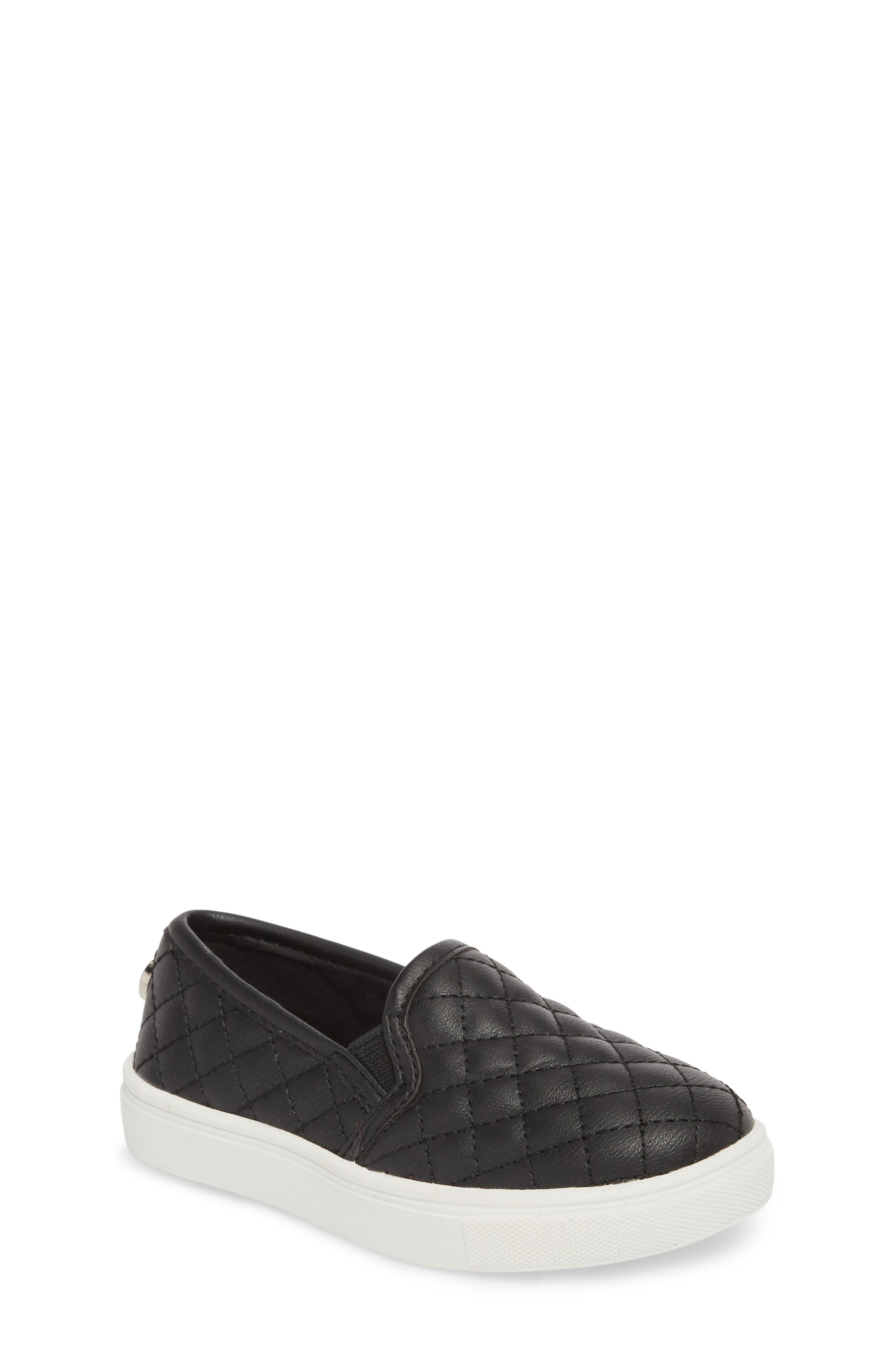 Tecntrc Quilted Slip-On Sneaker,                             Main thumbnail 1, color,                             Black