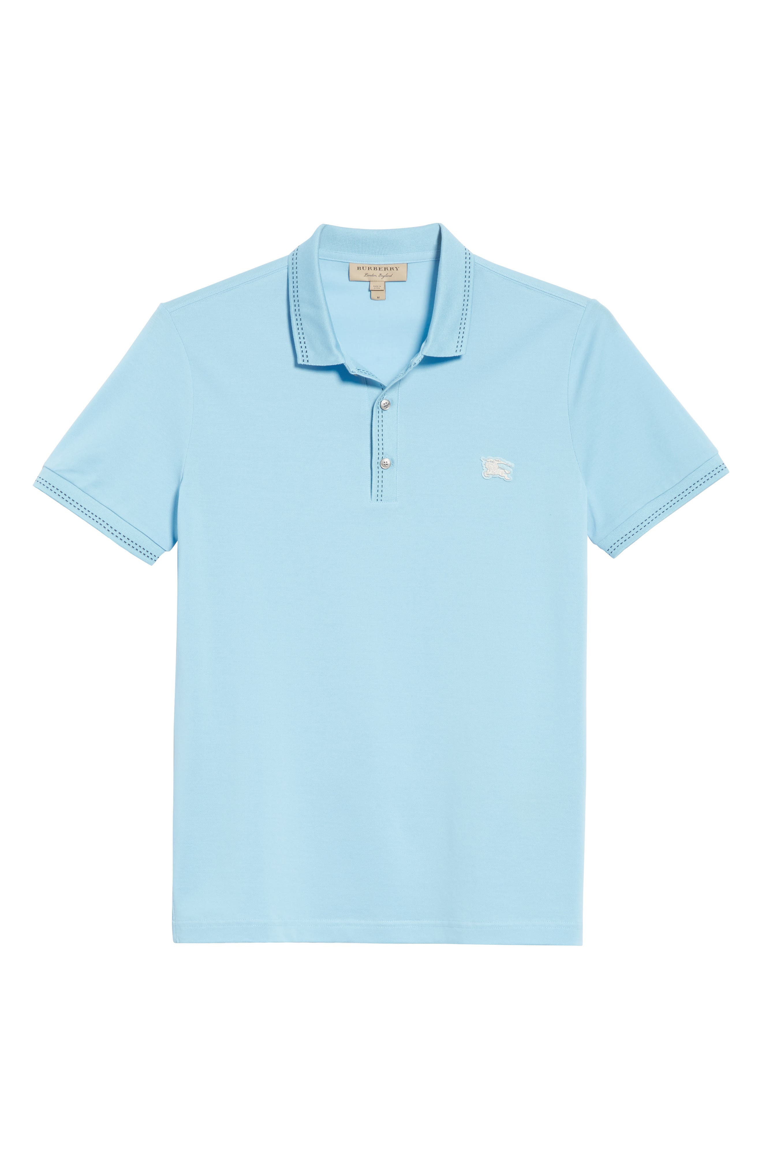 Kenforth Polo,                             Alternate thumbnail 6, color,                             Pale Turquoise