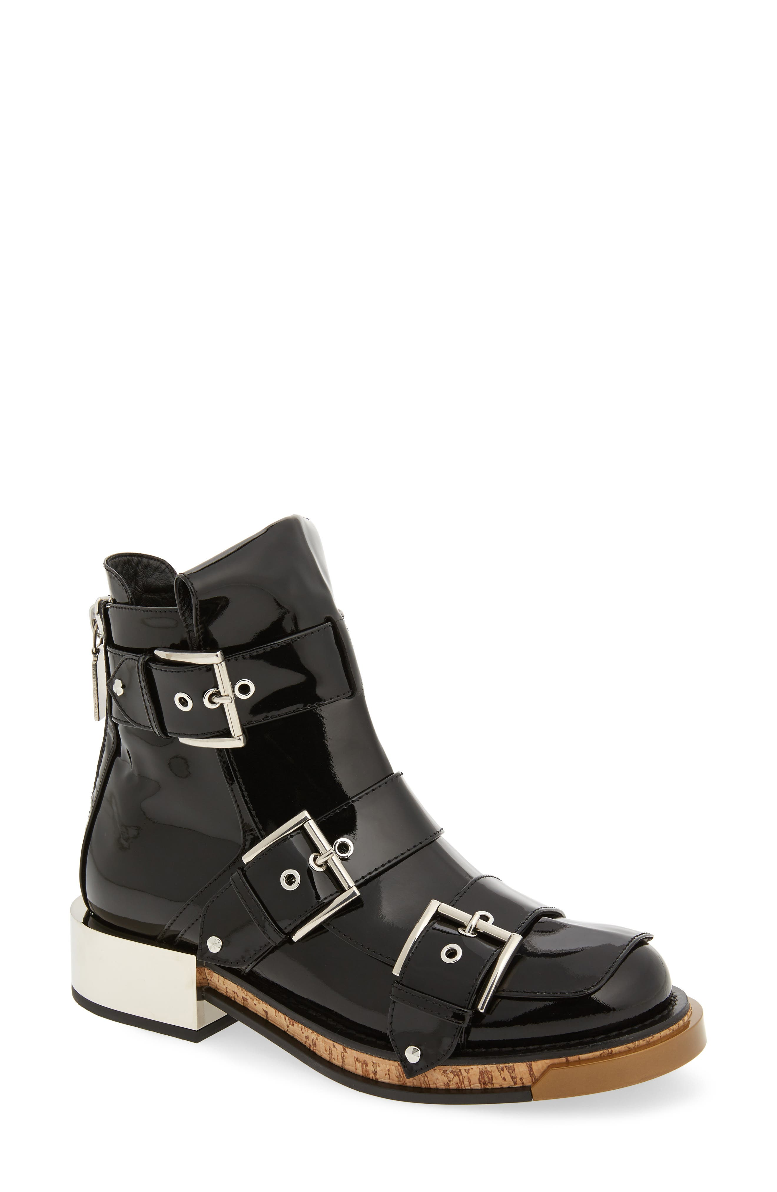 Alexander McQueen Buckle Boot (Women)