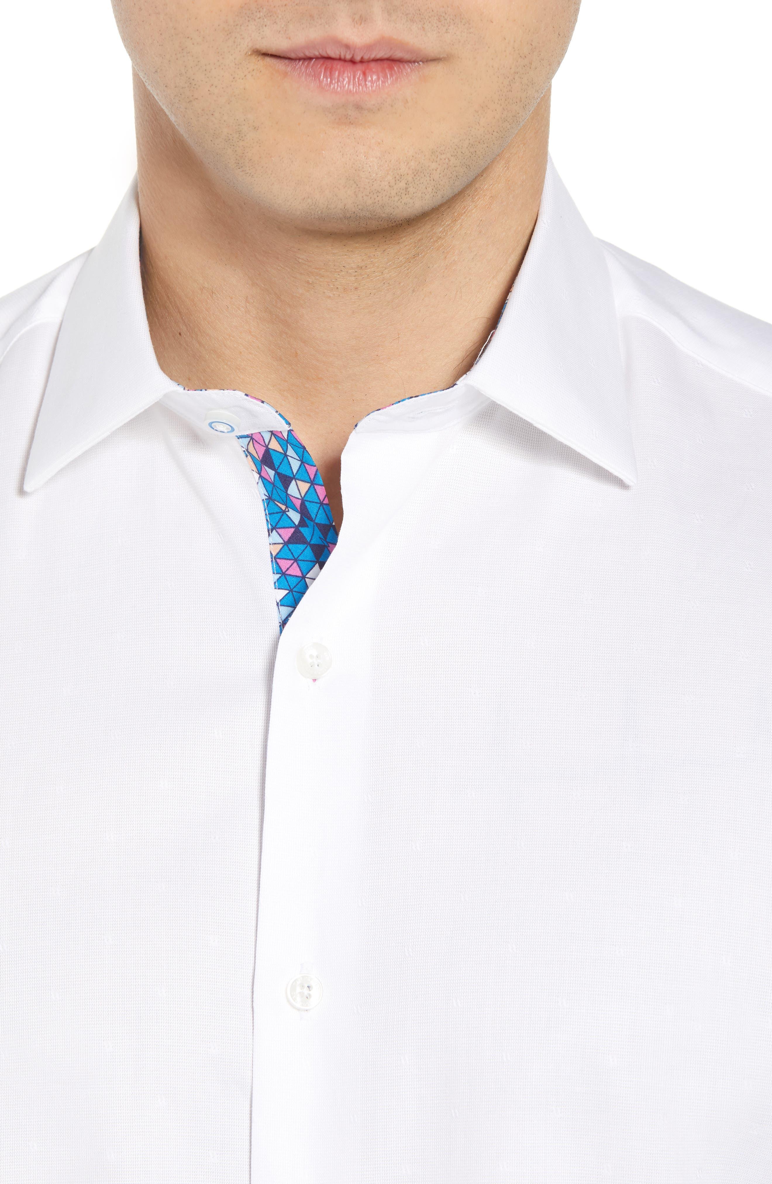 Arlen Regular Fit Sport Shirt,                             Alternate thumbnail 2, color,                             White