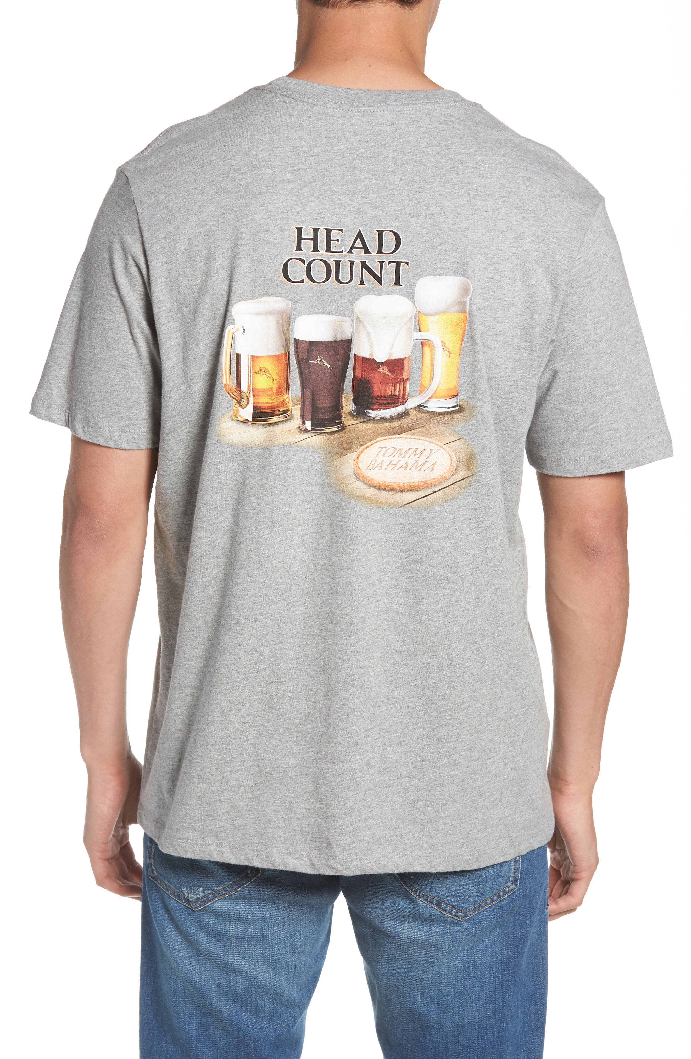 Head Count T-Shirt,                             Alternate thumbnail 2, color,                             Grey Heather